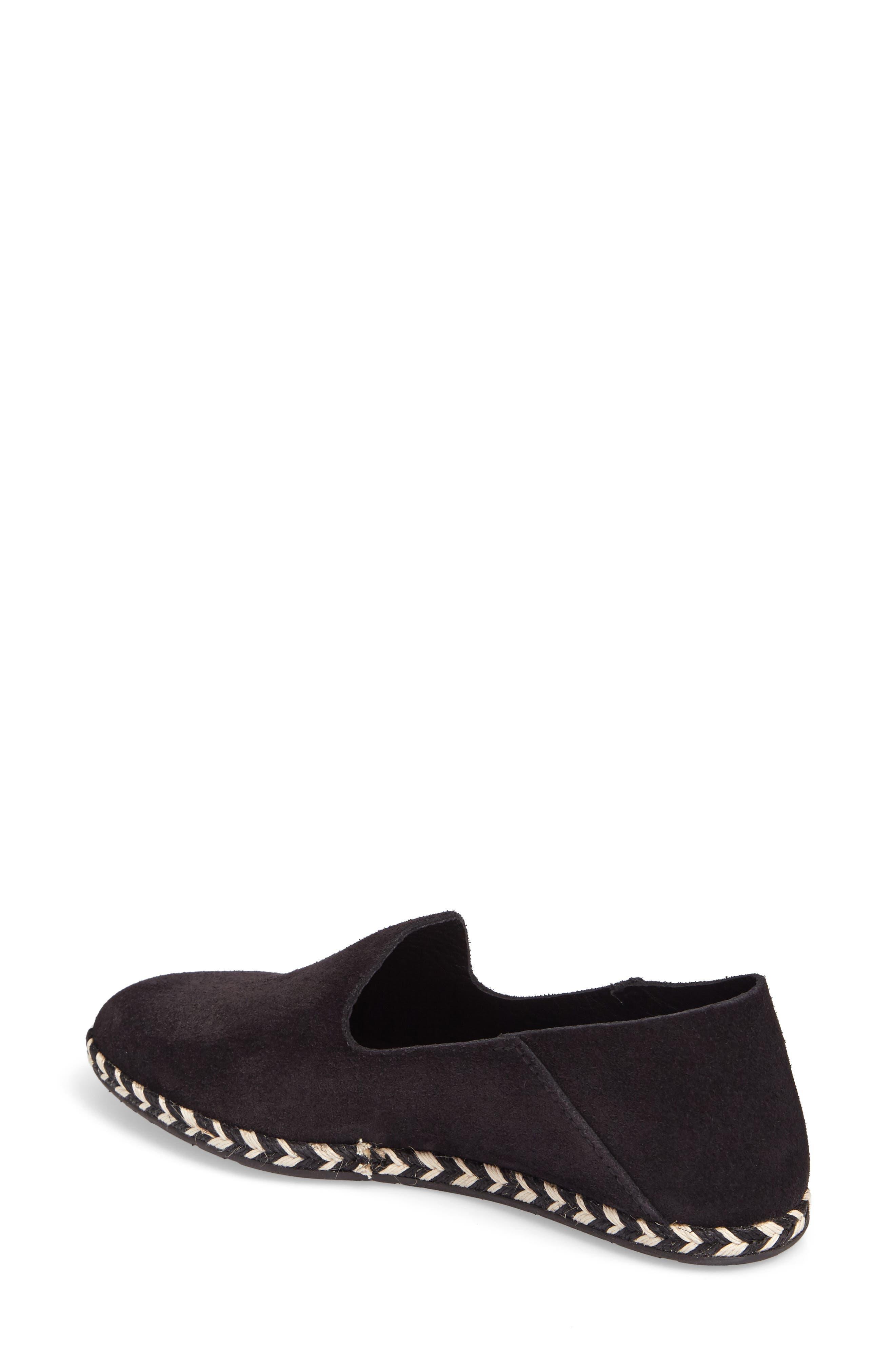 Yuli Convertible Woven Loafer,                             Alternate thumbnail 3, color,                             BLACK