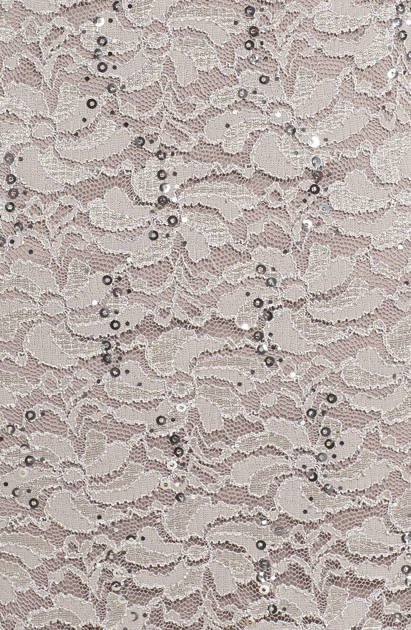 Lace Dress & Jacket,                             Alternate thumbnail 6, color,                             MINK