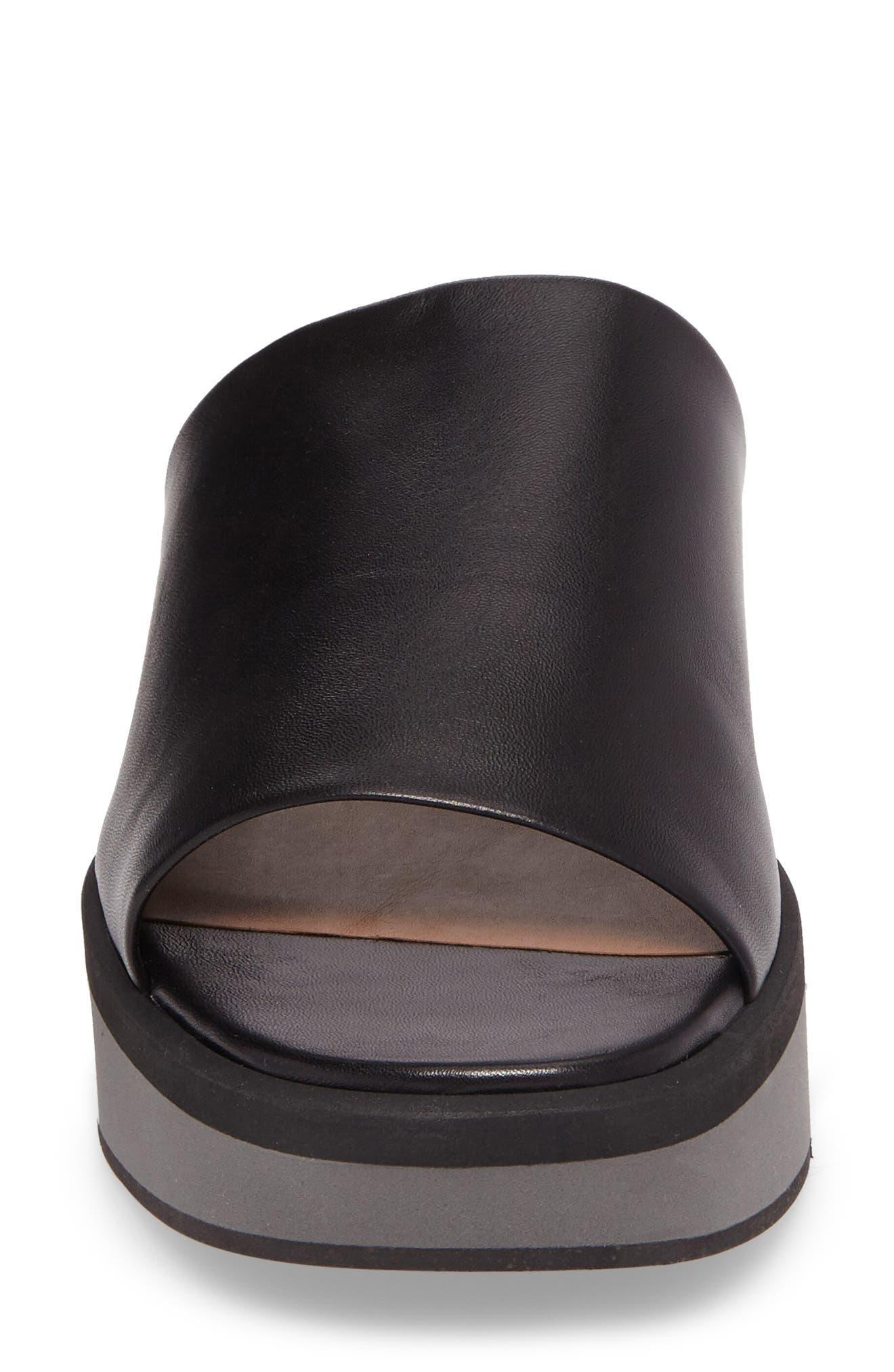 Quenor Platform Sandal,                             Alternate thumbnail 4, color,                             004