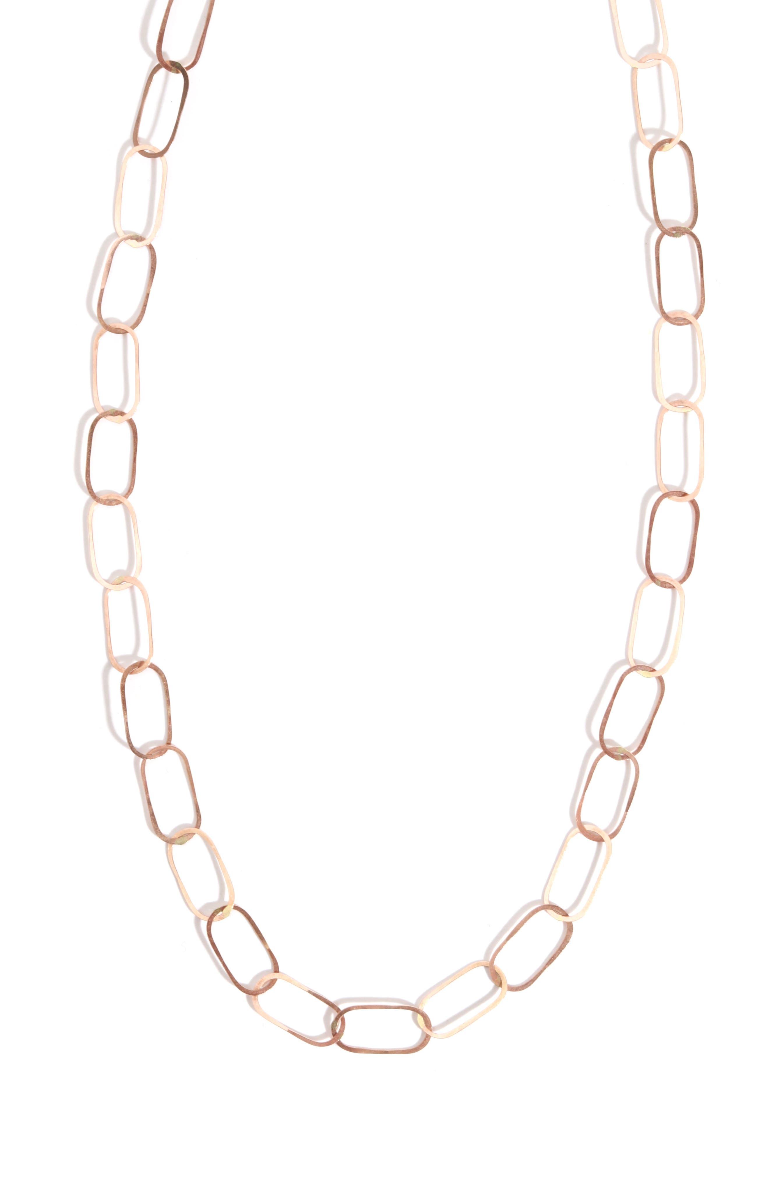 Link Necklace,                         Main,                         color, 710