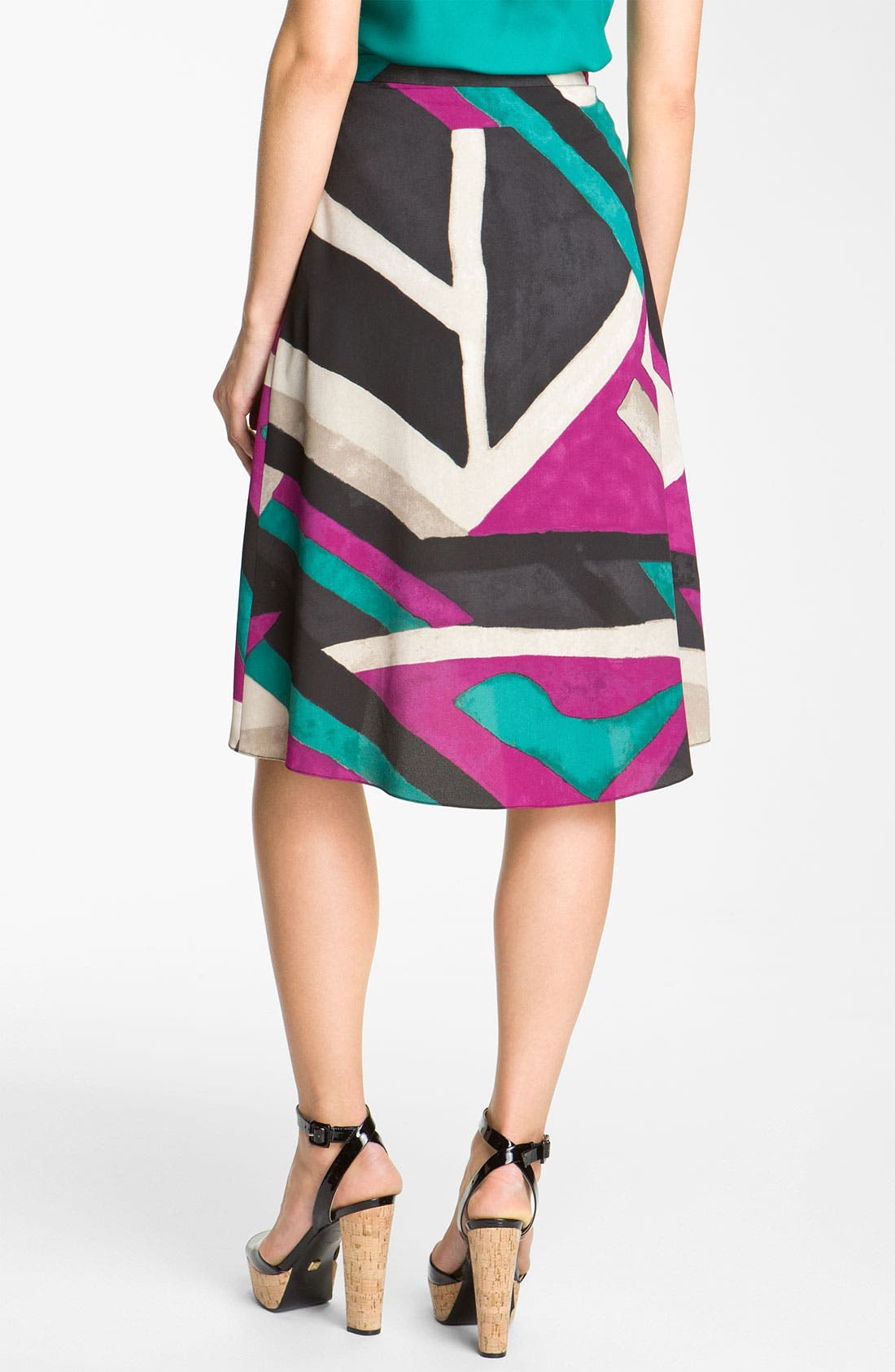 'Havana Nights' Skirt,                             Alternate thumbnail 3, color,                             001