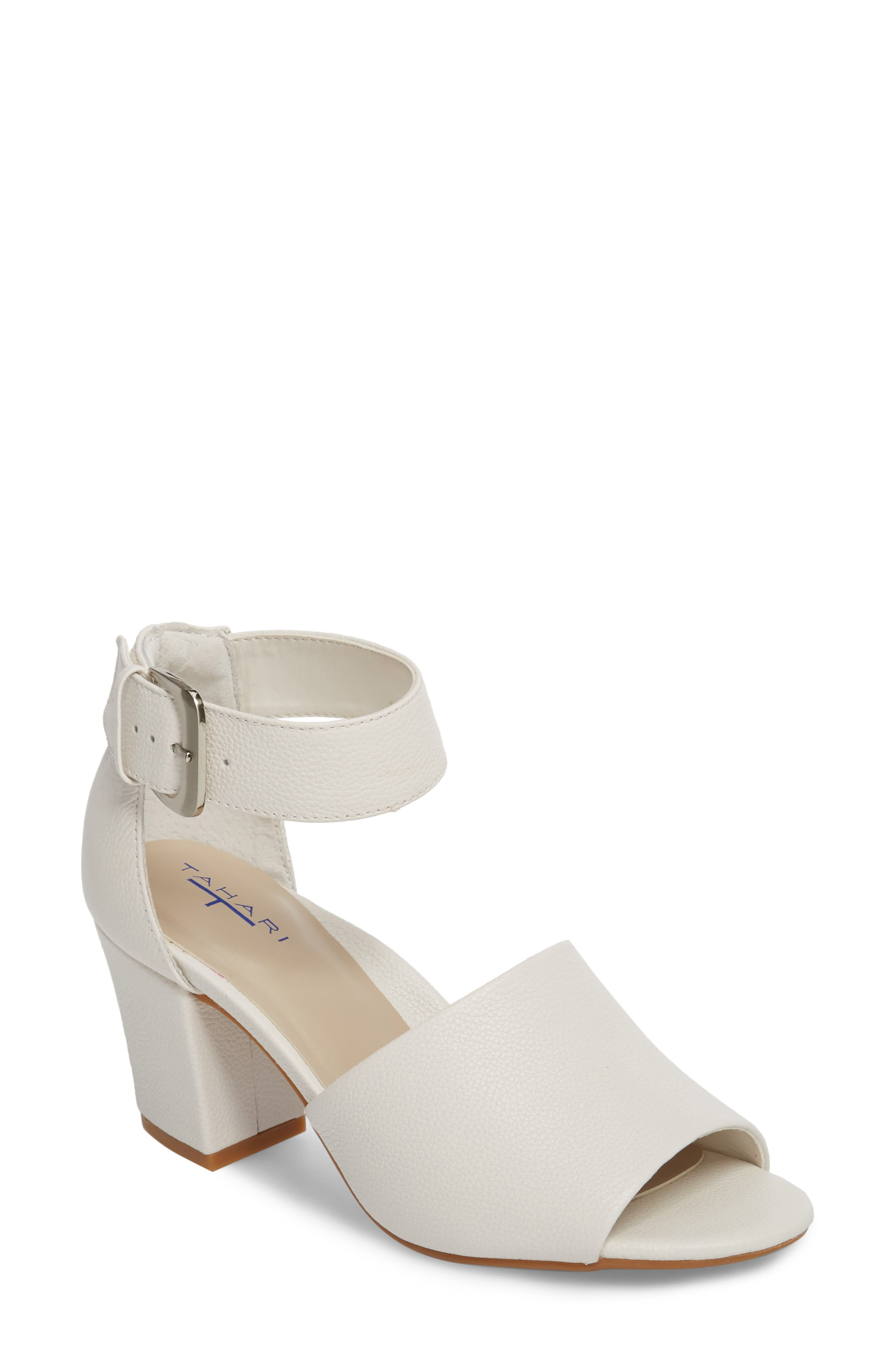 Piper Sandal,                         Main,                         color, WARM WHITE LEATHER