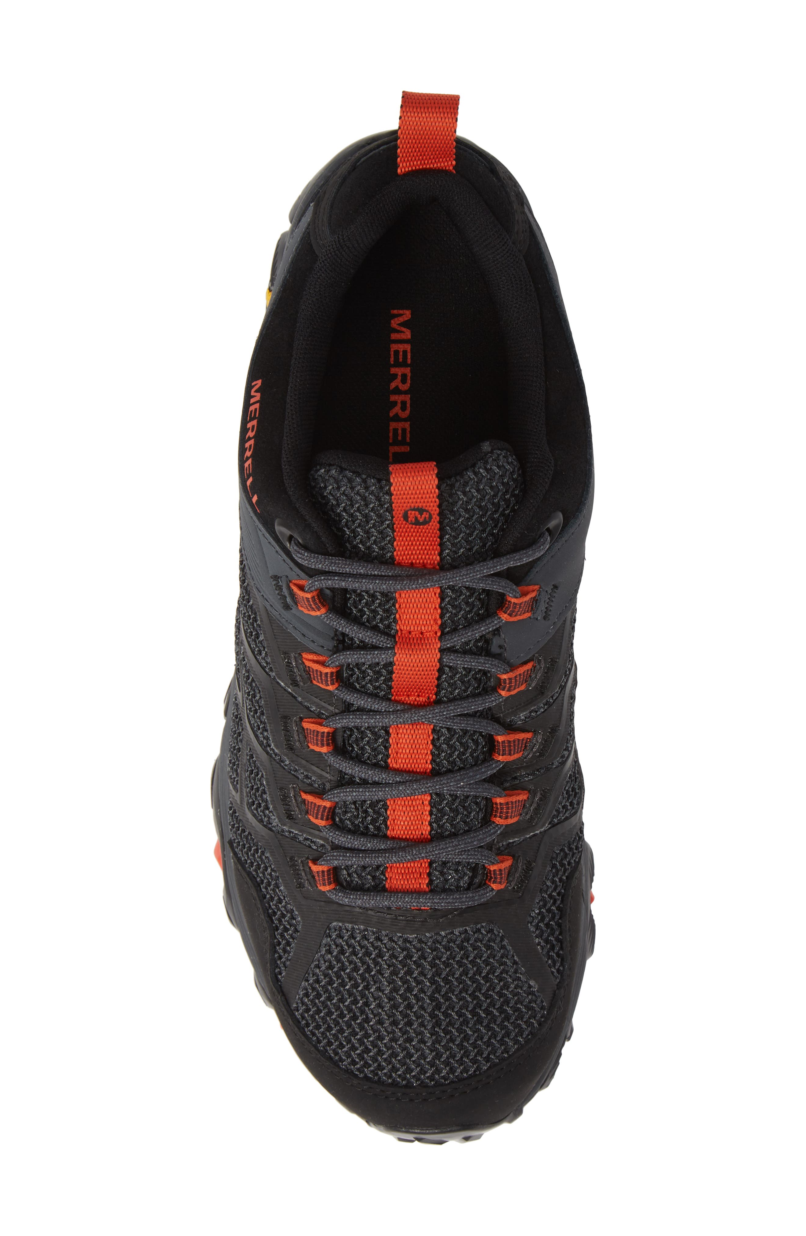 Moab FST 2 Waterproof Hiking Shoe,                             Alternate thumbnail 5, color,                             001