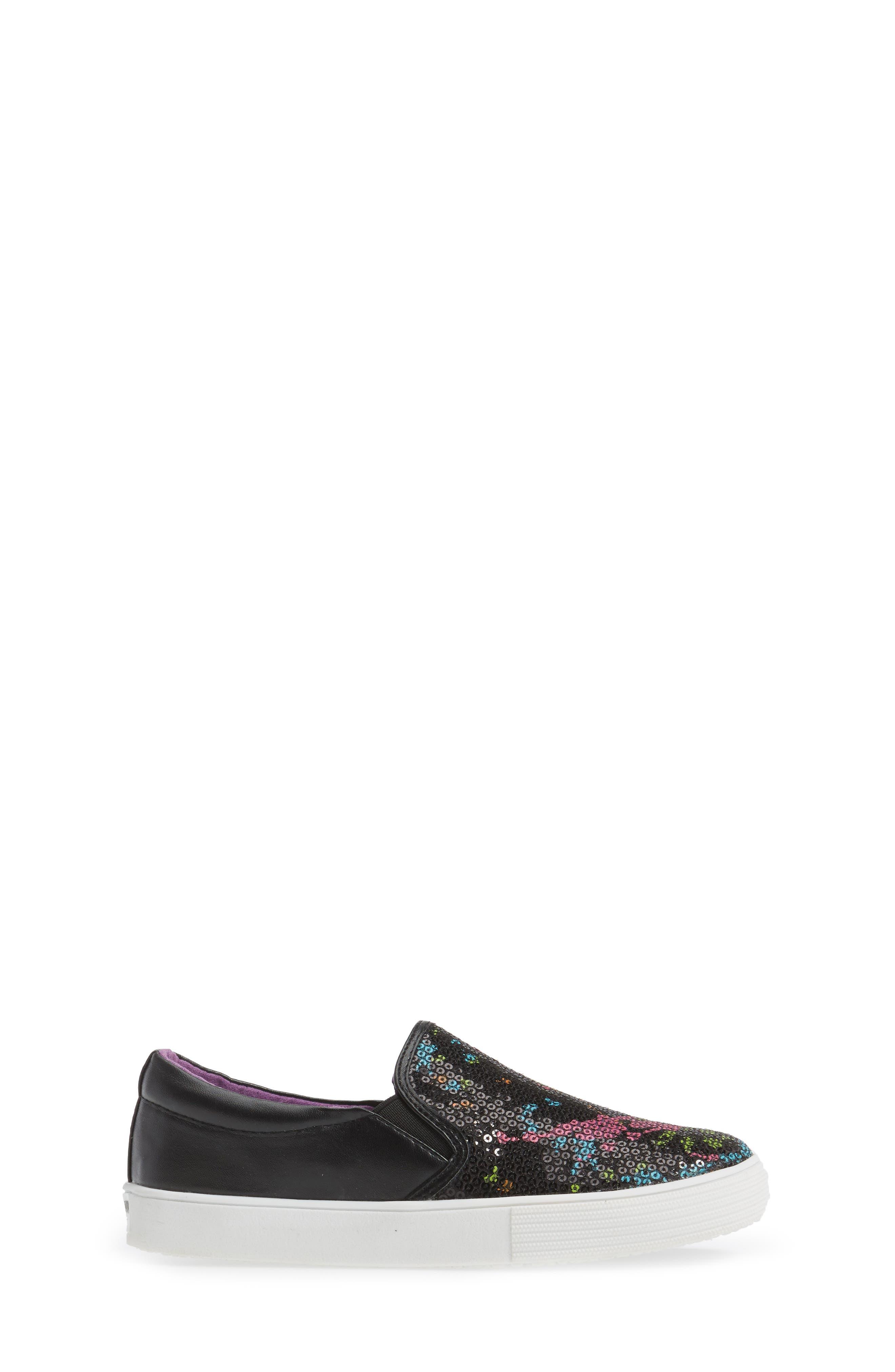 Kam Paint Slip-On Sneaker,                             Alternate thumbnail 3, color,                             001