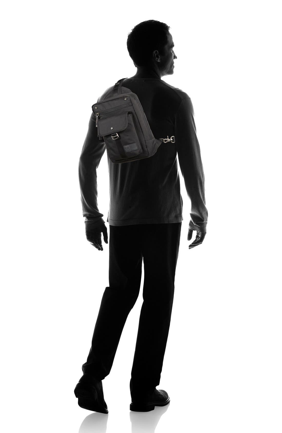 T-Tech by Tumi 'Icon - Newton' Sling Backpack,                             Alternate thumbnail 4, color,                             002