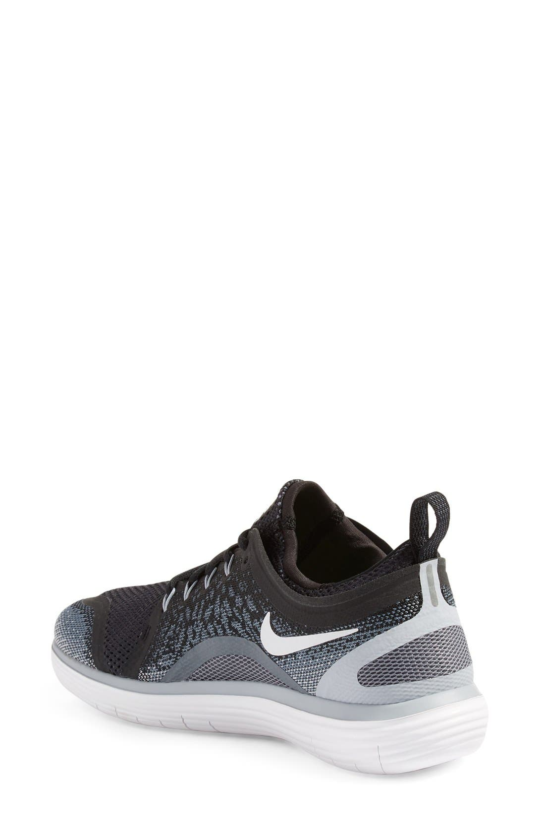 Free Run Distance 2 Running Shoe,                             Alternate thumbnail 7, color,                             001