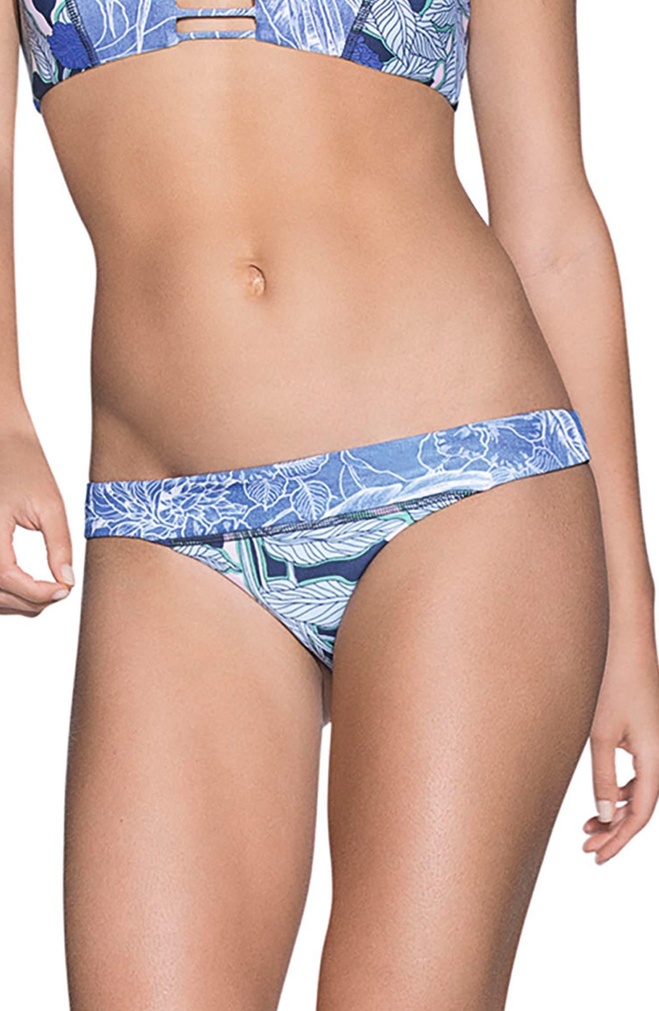 Gorgona Forest Signature Cut Reversible Bikini Bottoms,                             Main thumbnail 1, color,
