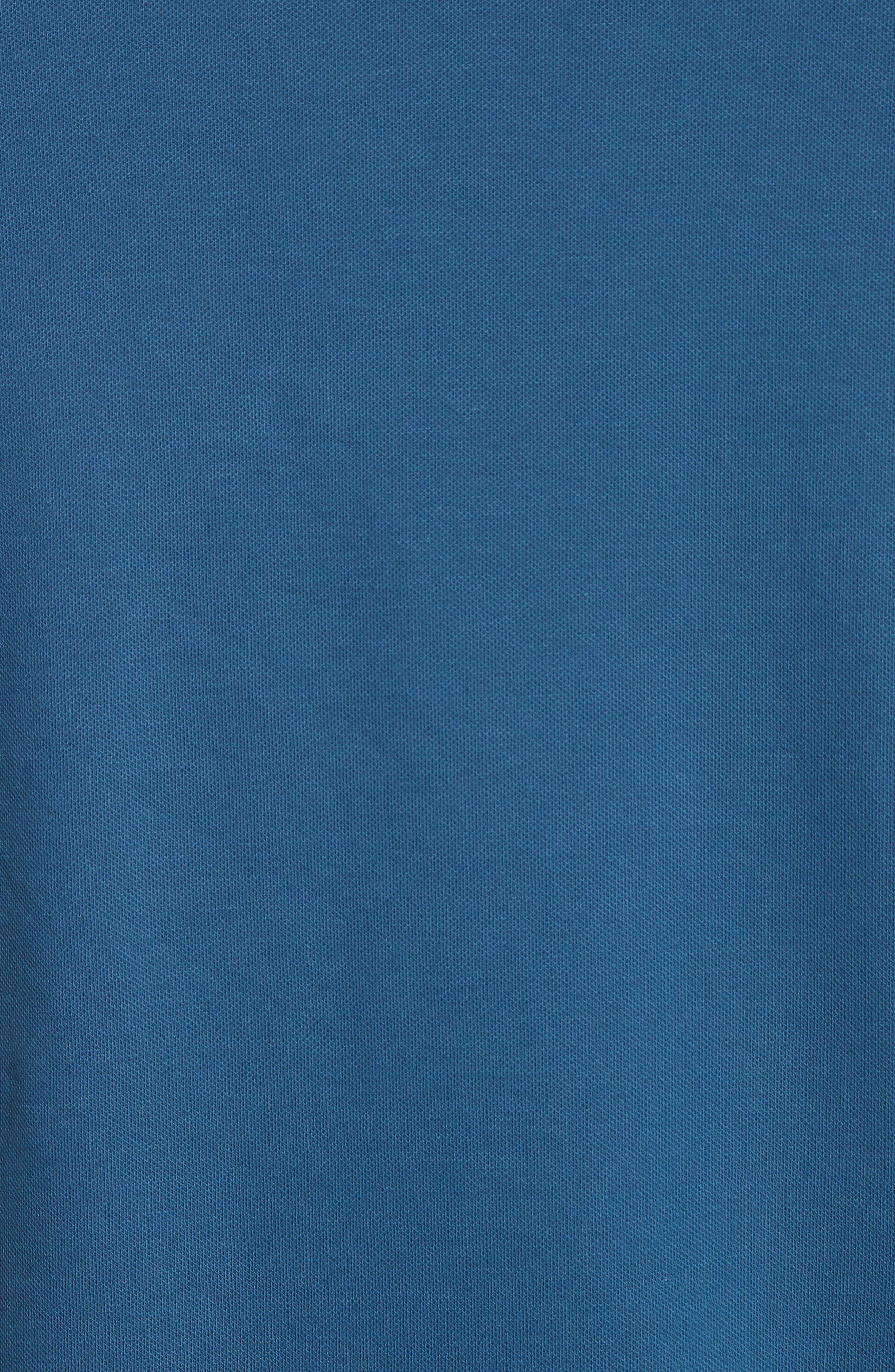 Slim Fit V-Neck Piqué T-Shirt,                             Alternate thumbnail 10, color,
