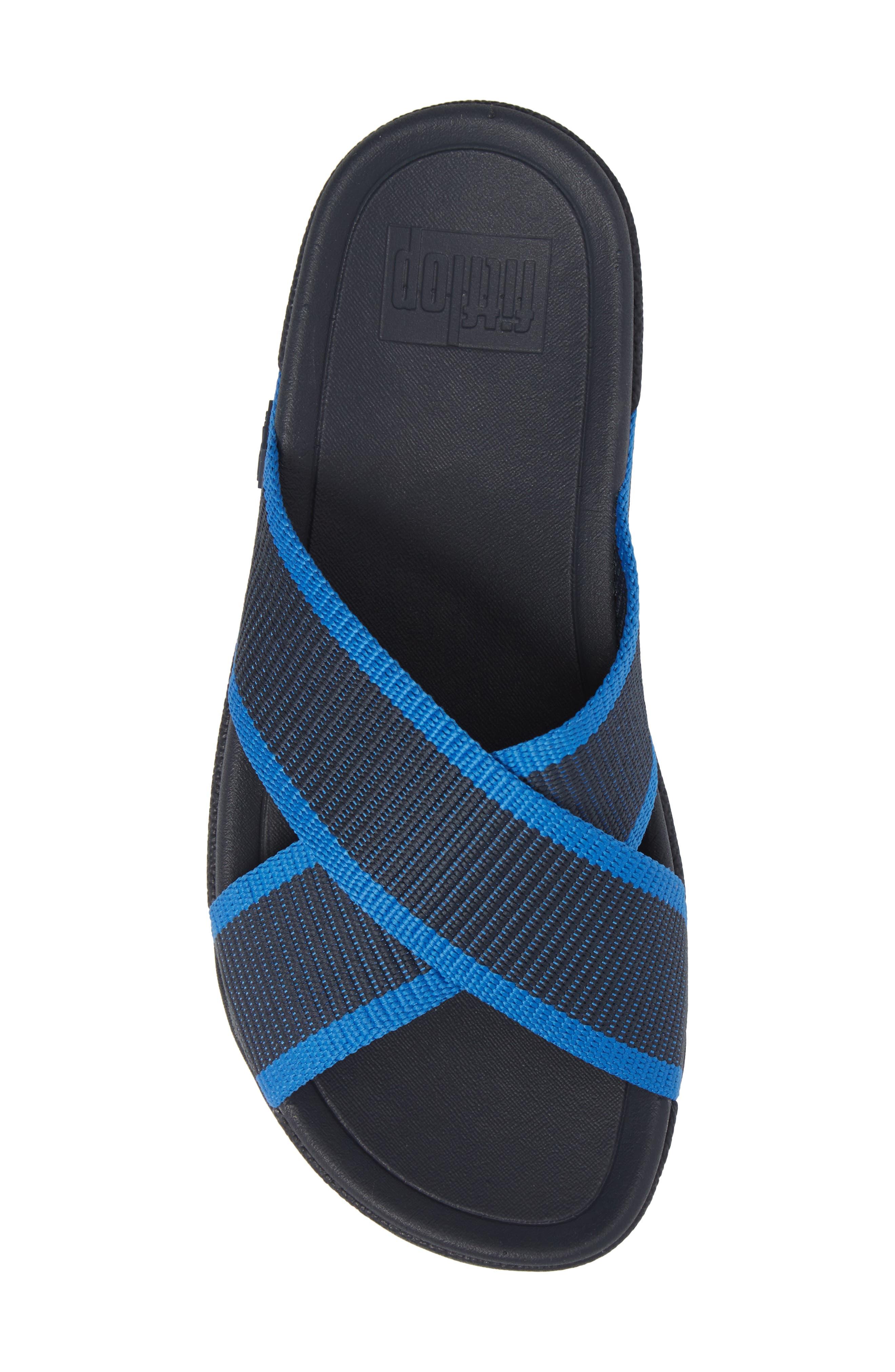 Surfer Slide Sandal,                             Alternate thumbnail 5, color,                             SUPERNAVY BLUE