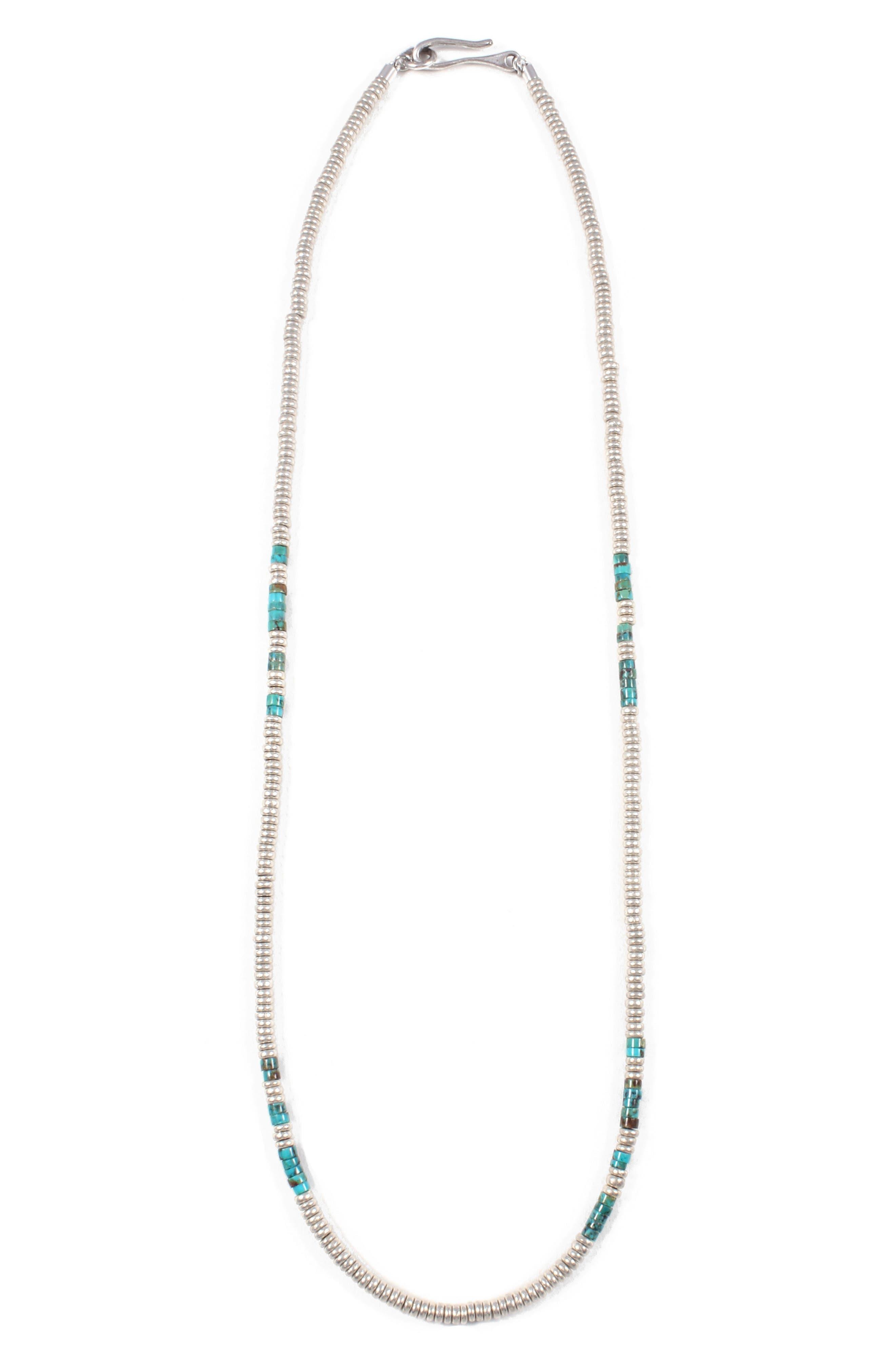 Luck Morse Necklace,                         Main,                         color, 450
