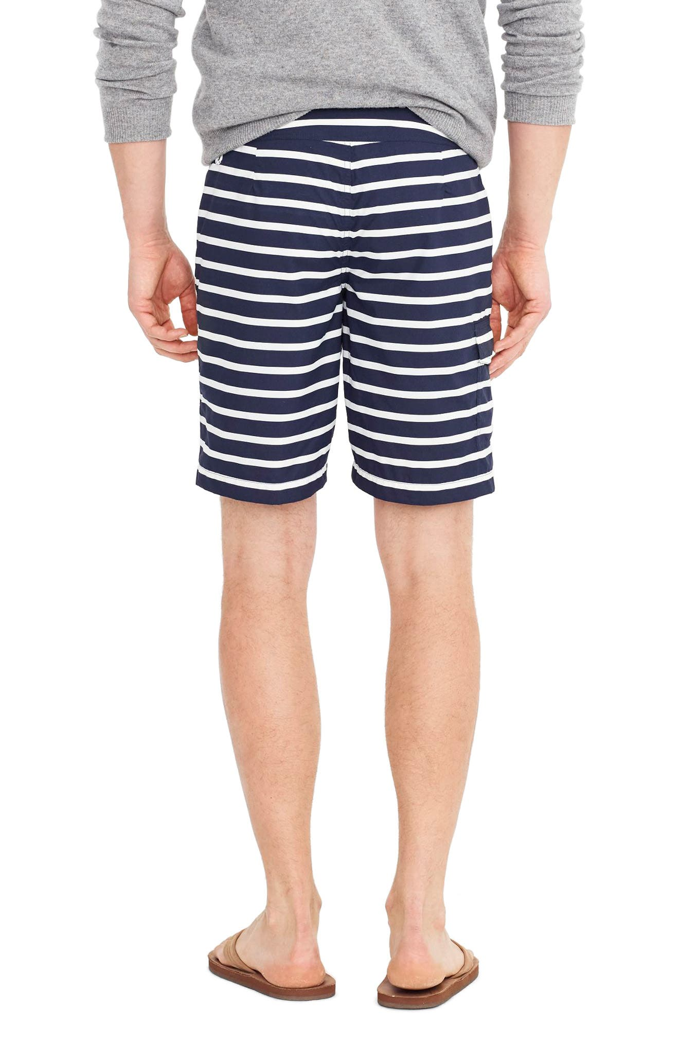 Stripe Swim Trunks,                             Alternate thumbnail 2, color,                             404