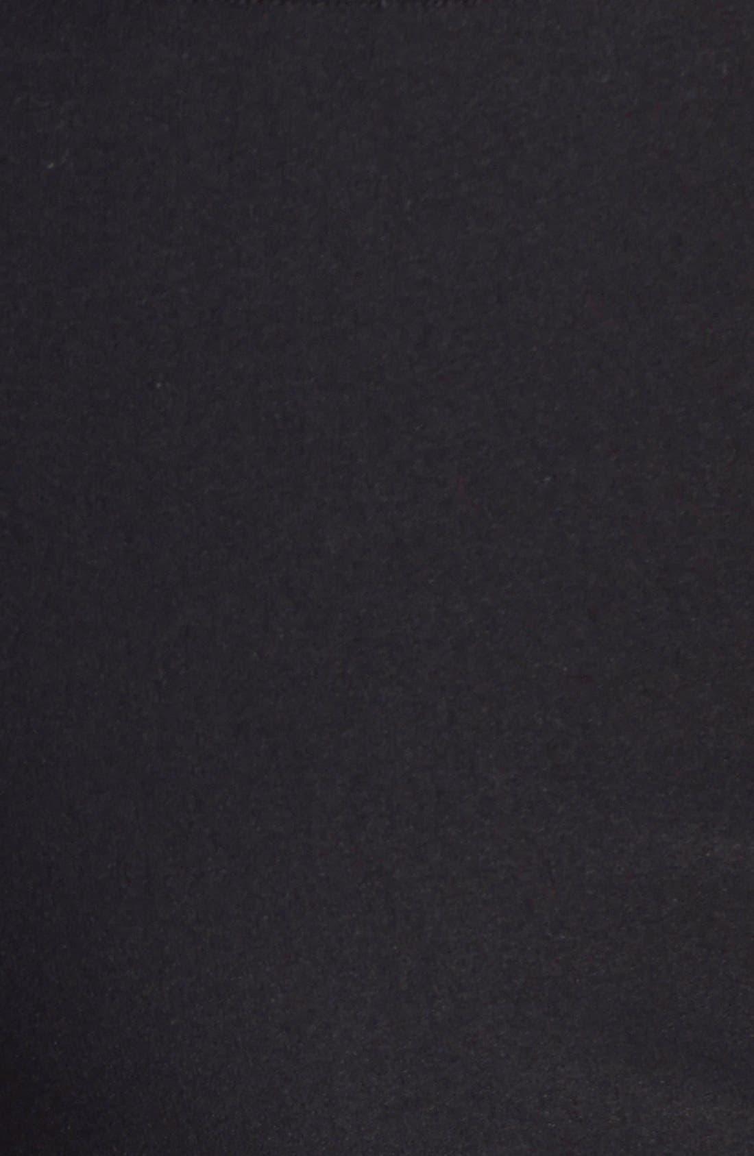 'Wonder Stretch' High Rise Straight Leg Pants,                             Alternate thumbnail 3, color,                             BLACK ONYX