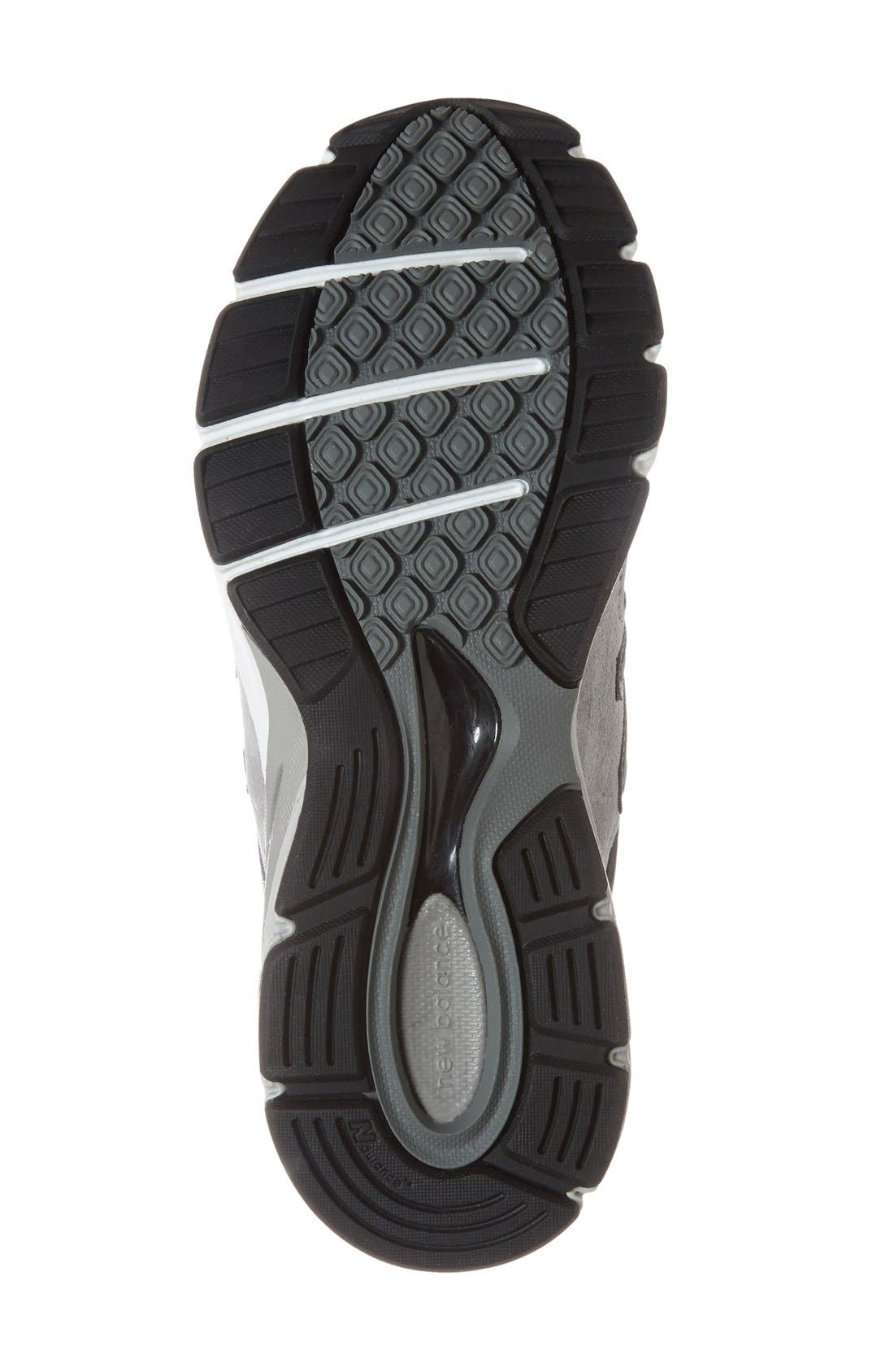 '990 Premium' Running Shoe,                             Alternate thumbnail 4, color,                             COOL GREY