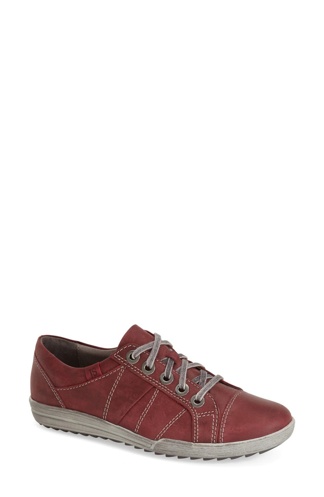 'Dany 05' Leather Sneaker,                             Main thumbnail 9, color,