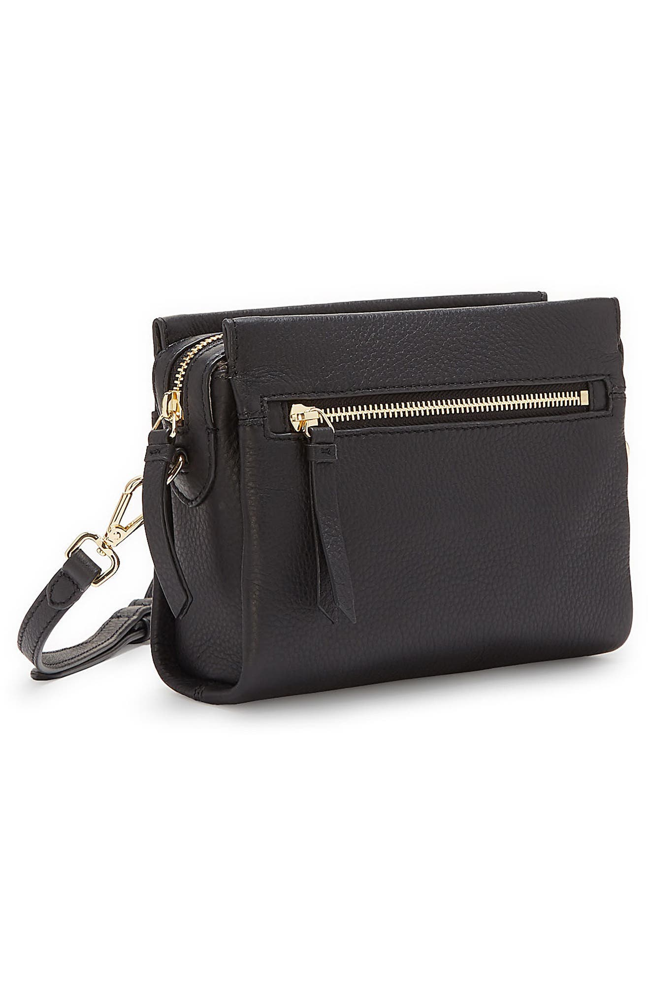 Codec Leather Crossbody Bag,                             Alternate thumbnail 13, color,