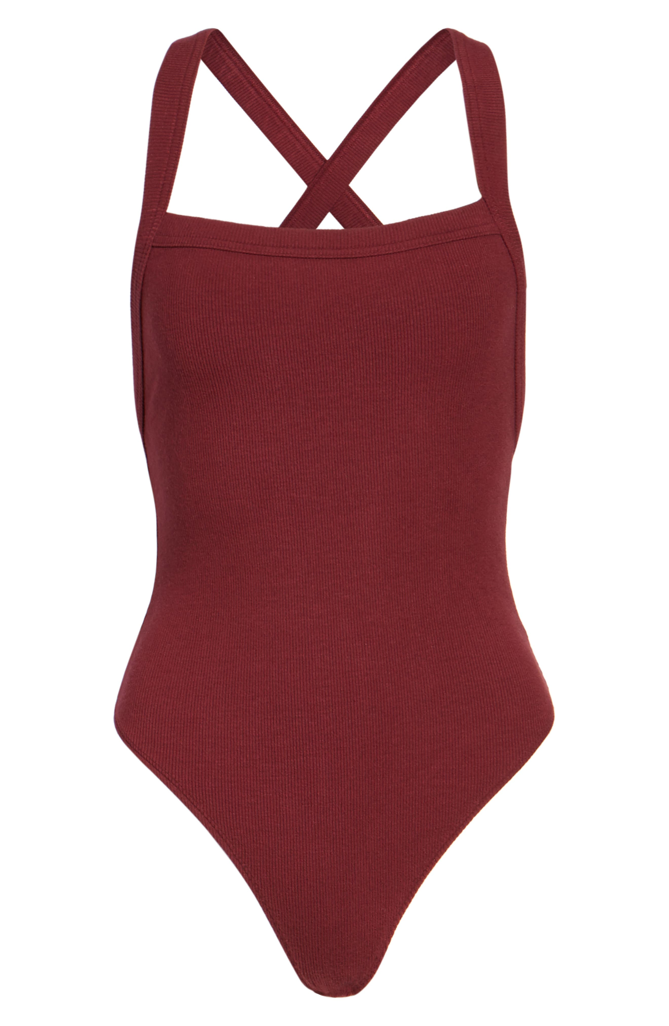 Thong Bodysuit,                             Alternate thumbnail 6, color,                             930