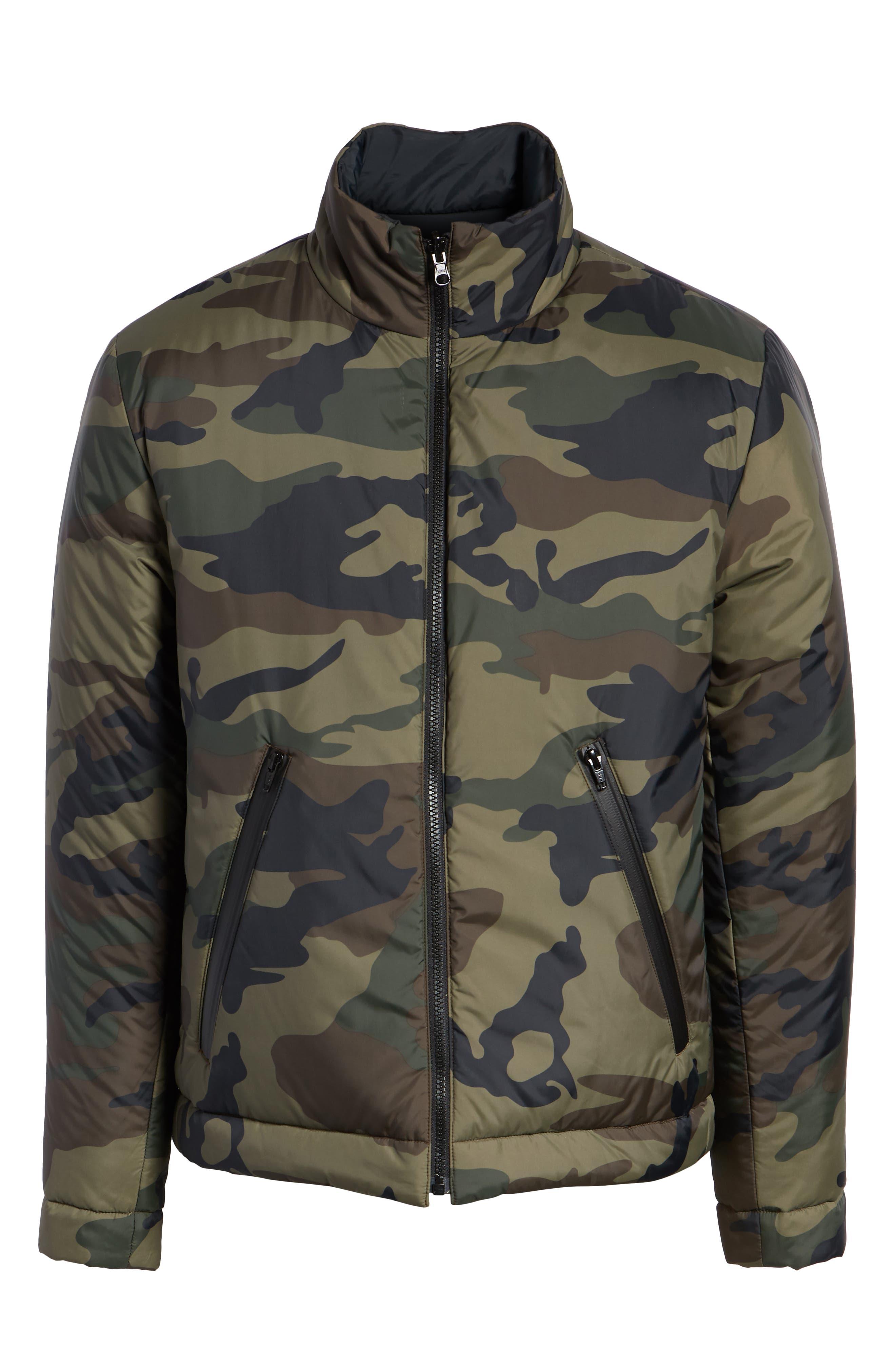 Buckhorn Slim Reversible Jacket,                             Alternate thumbnail 7, color,                             SPRIG