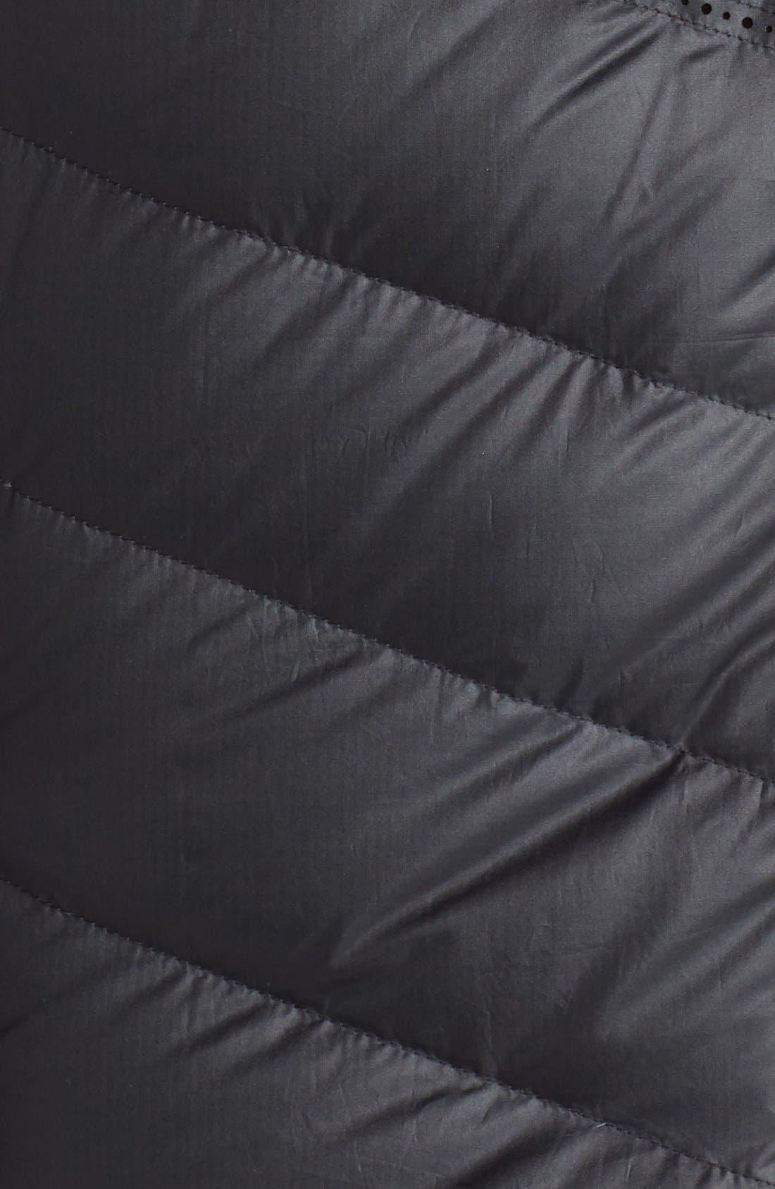 NIKE,                             'Aeroloft' Tech Fleece & Down Parka,                             Alternate thumbnail 2, color,                             010