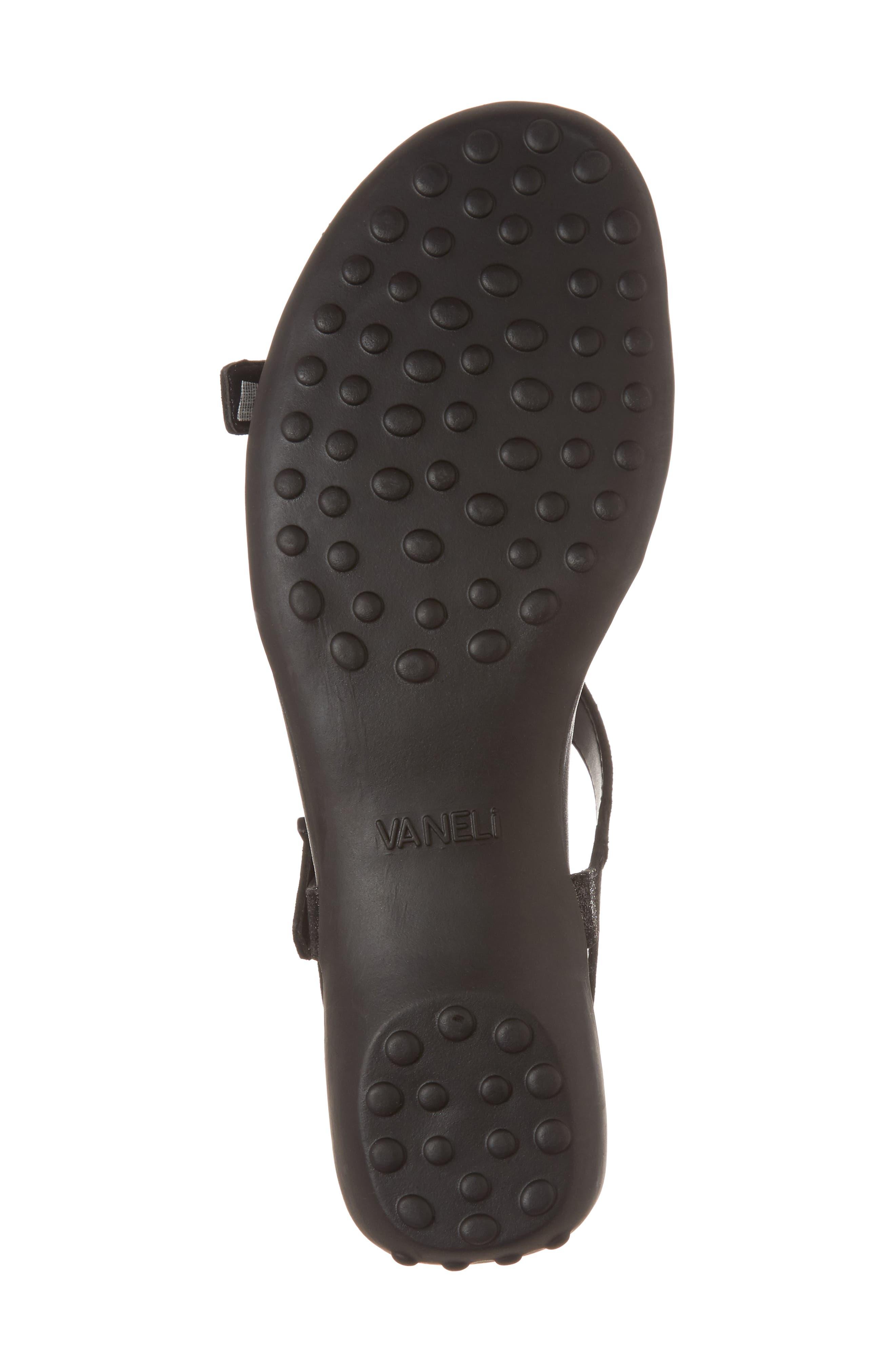 VANELI,                             Taletha T-Strap Sandal,                             Alternate thumbnail 6, color,                             001