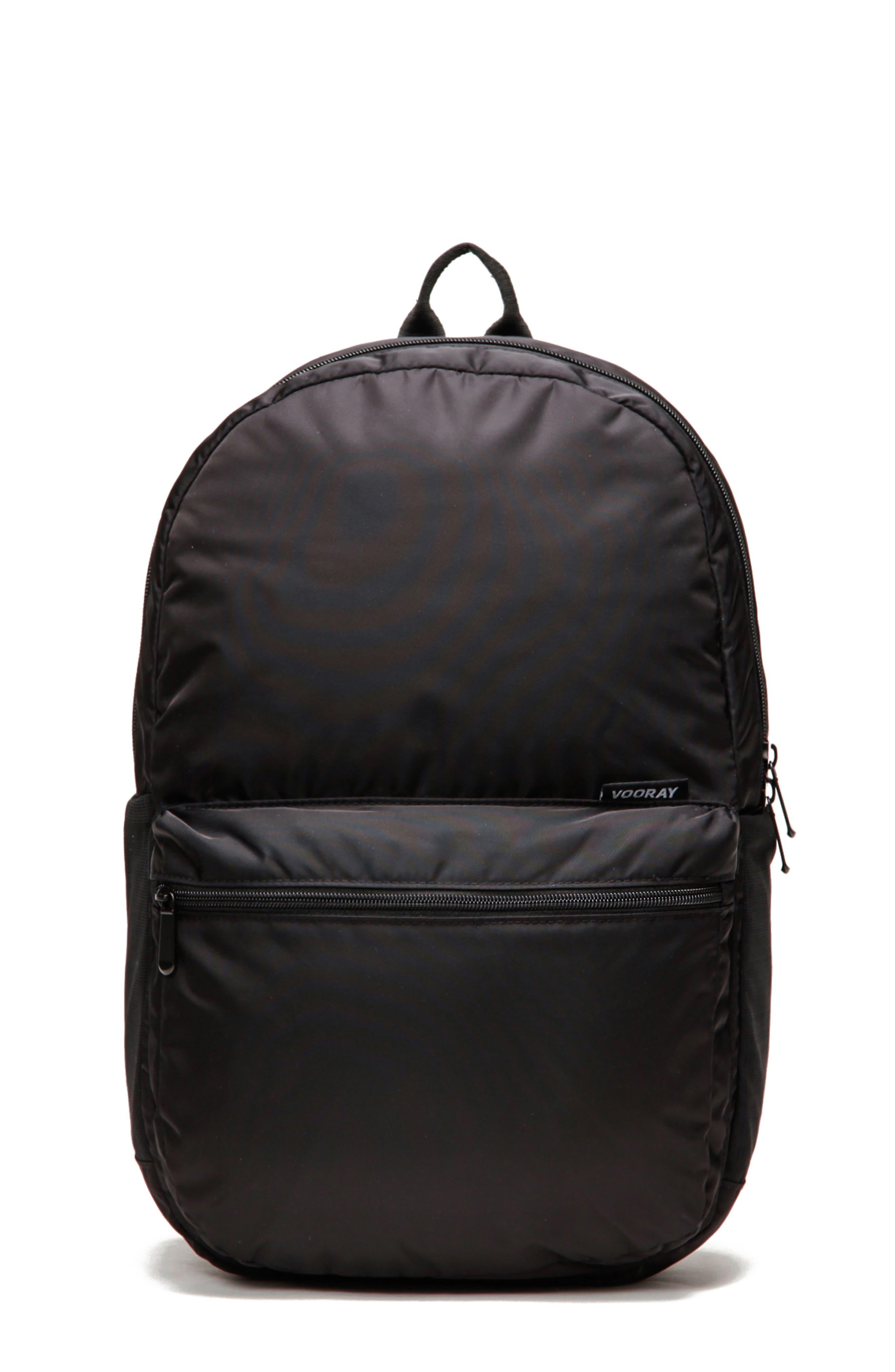 Ace Backpack,                         Main,                         color, BLACK NYLON