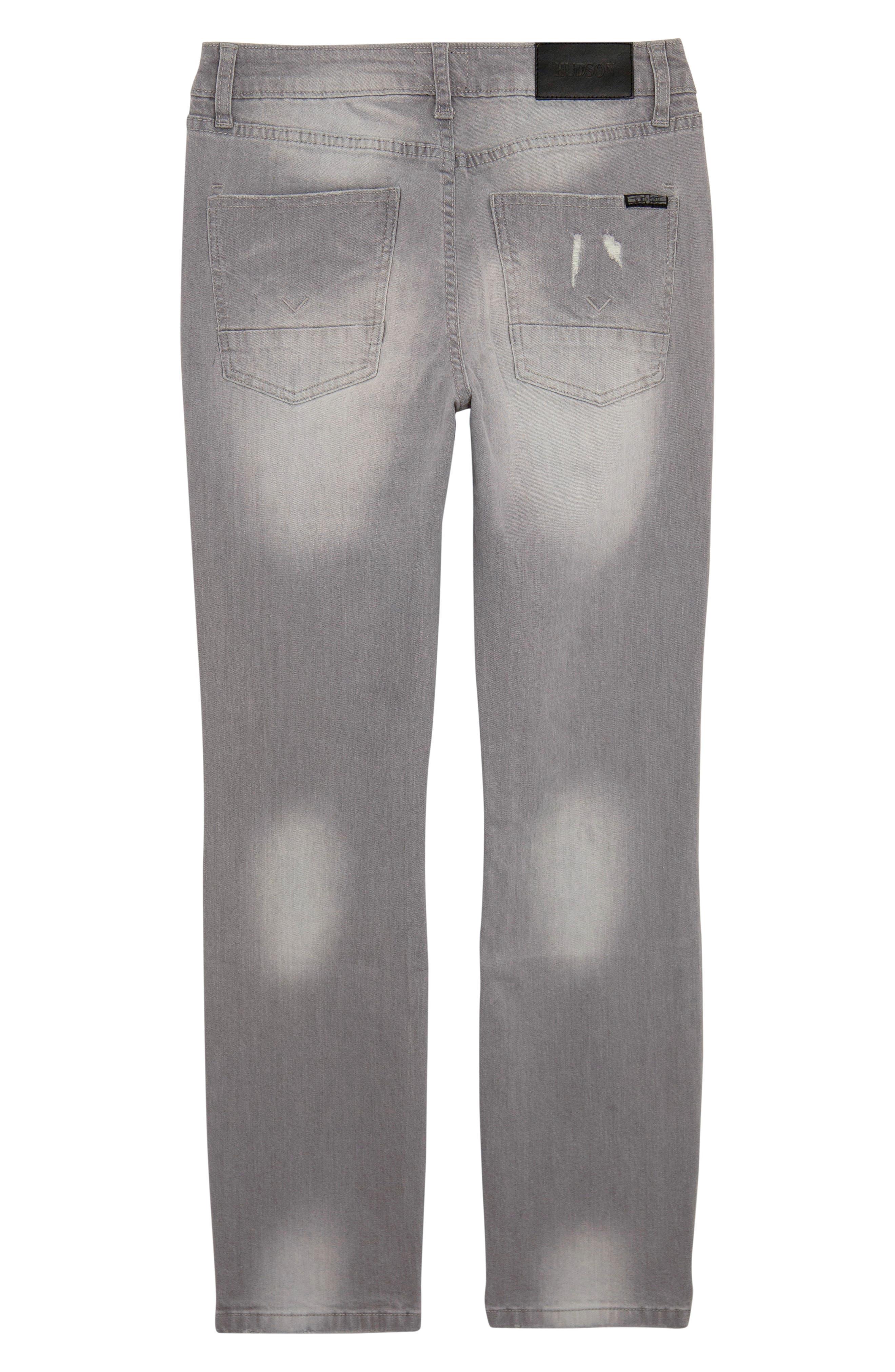 Straight Leg Jeans,                             Alternate thumbnail 2, color,                             GREY CLOUD