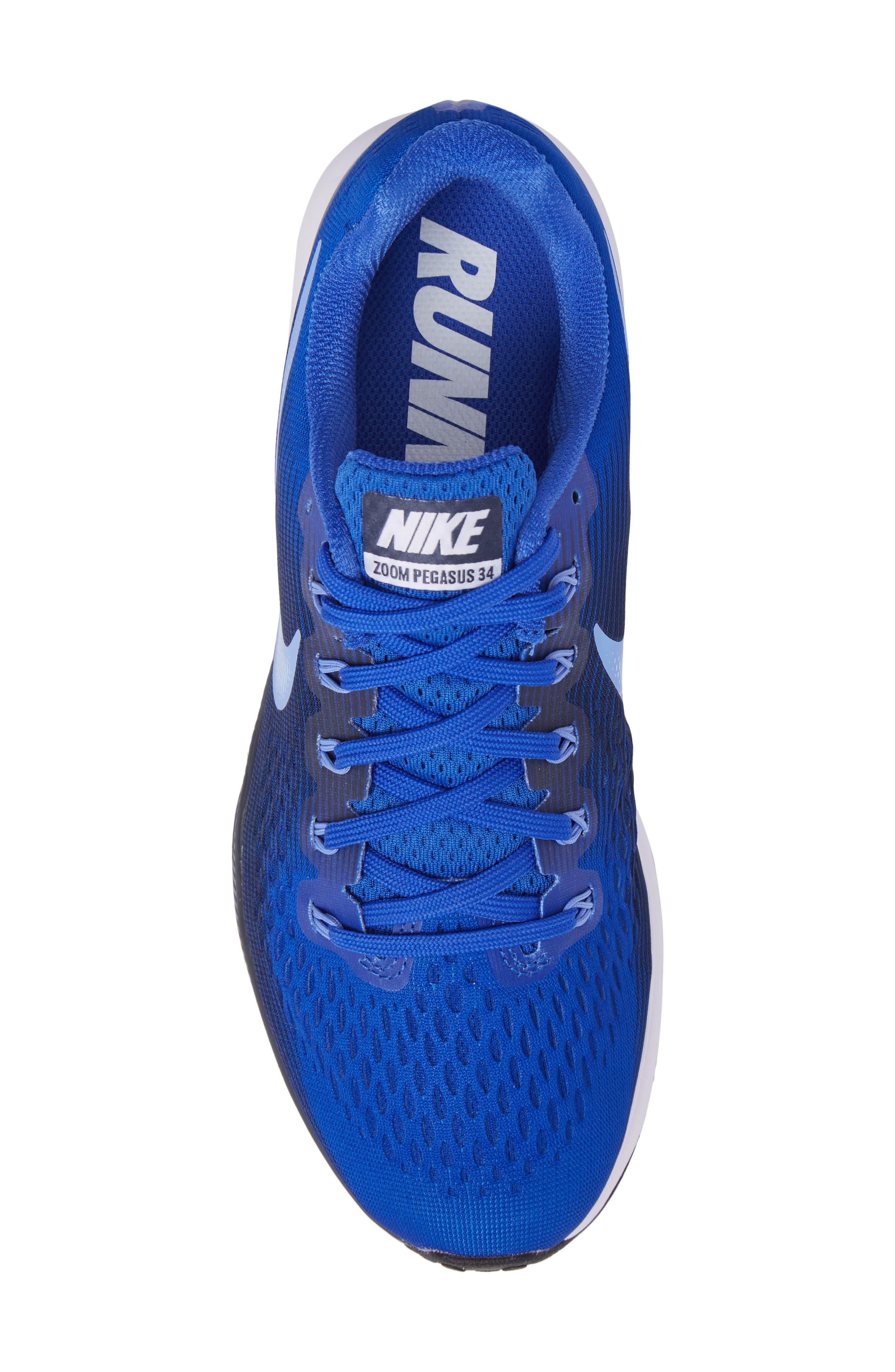 Air Zoom Pegasus 34 Sneaker,                             Alternate thumbnail 48, color,