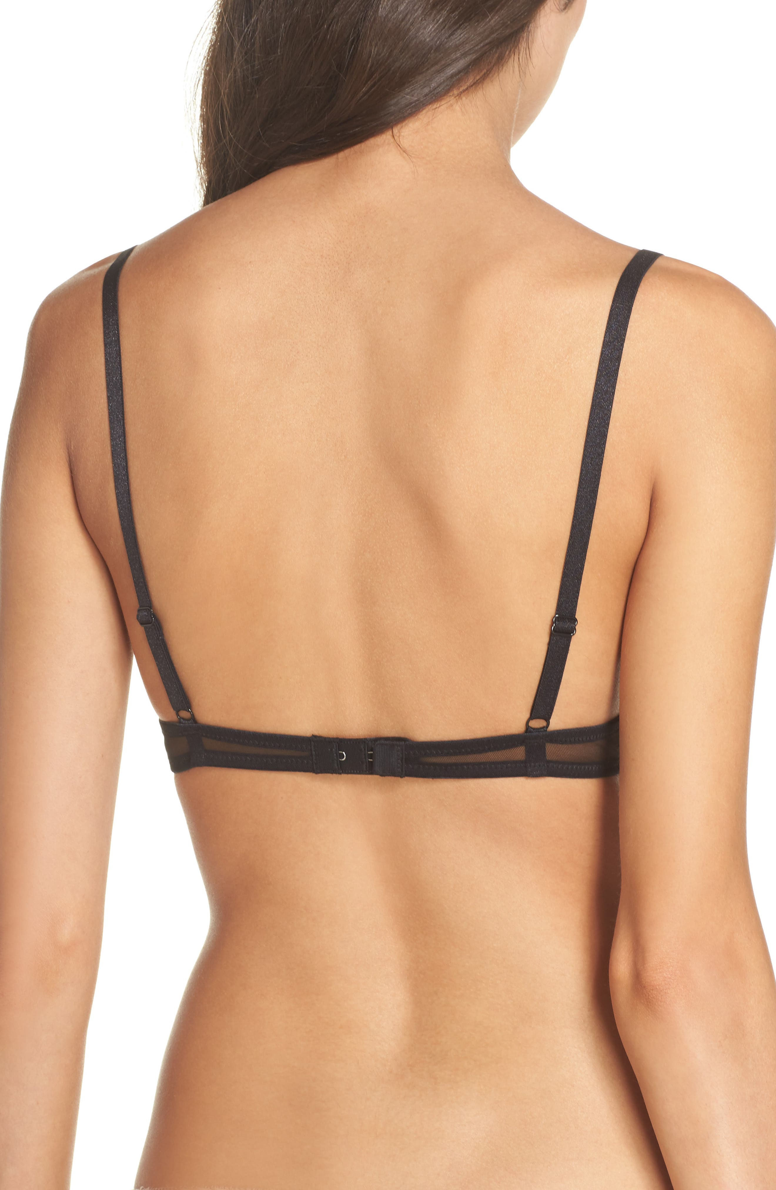 Intimately FP Mesh Underwire Bra,                             Alternate thumbnail 5, color,