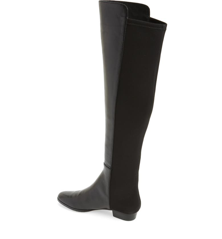248c6e0c3bd Women'S Karita Leather Over-The-Knee Boots in Black
