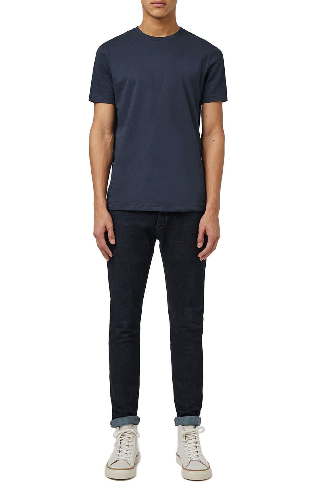 Slim Fit Crewneck T-Shirt,                             Alternate thumbnail 408, color,