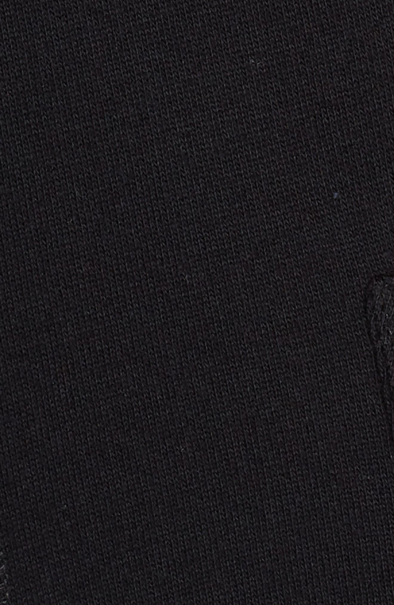 Knit Roll Sleeve Blazer,                             Alternate thumbnail 7, color,                             001