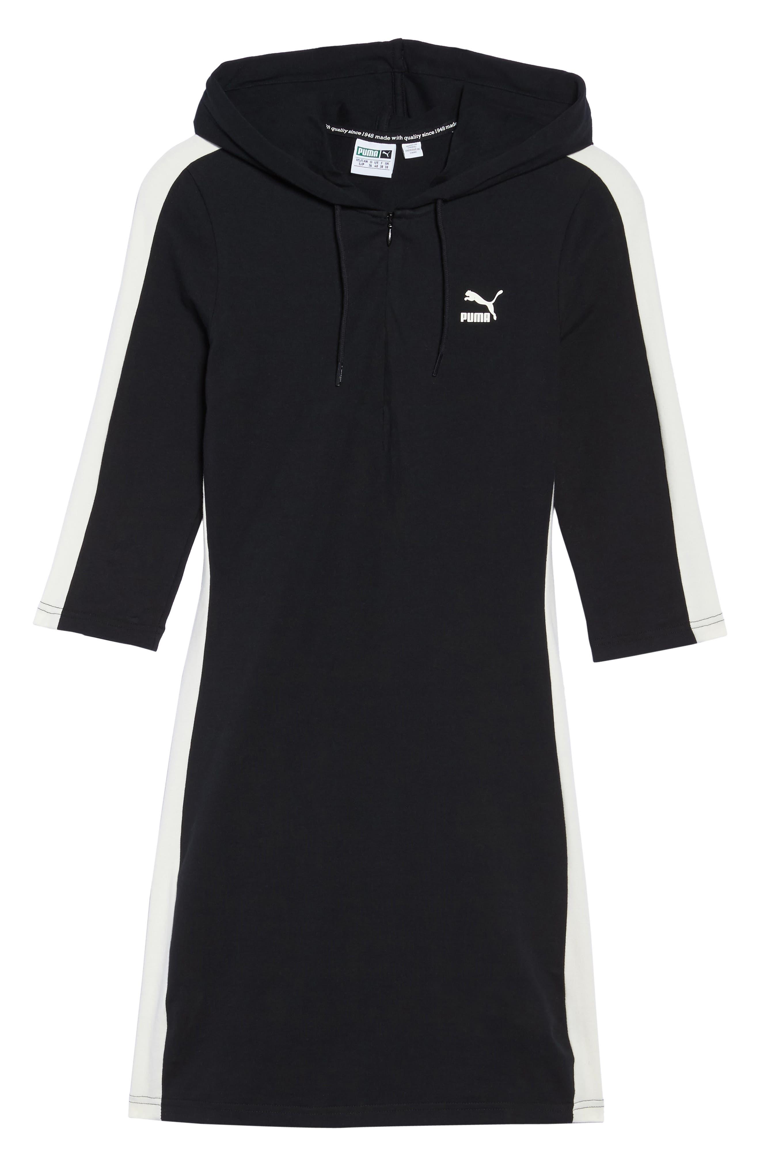 T7 Sweatshirt Dress,                             Alternate thumbnail 23, color,
