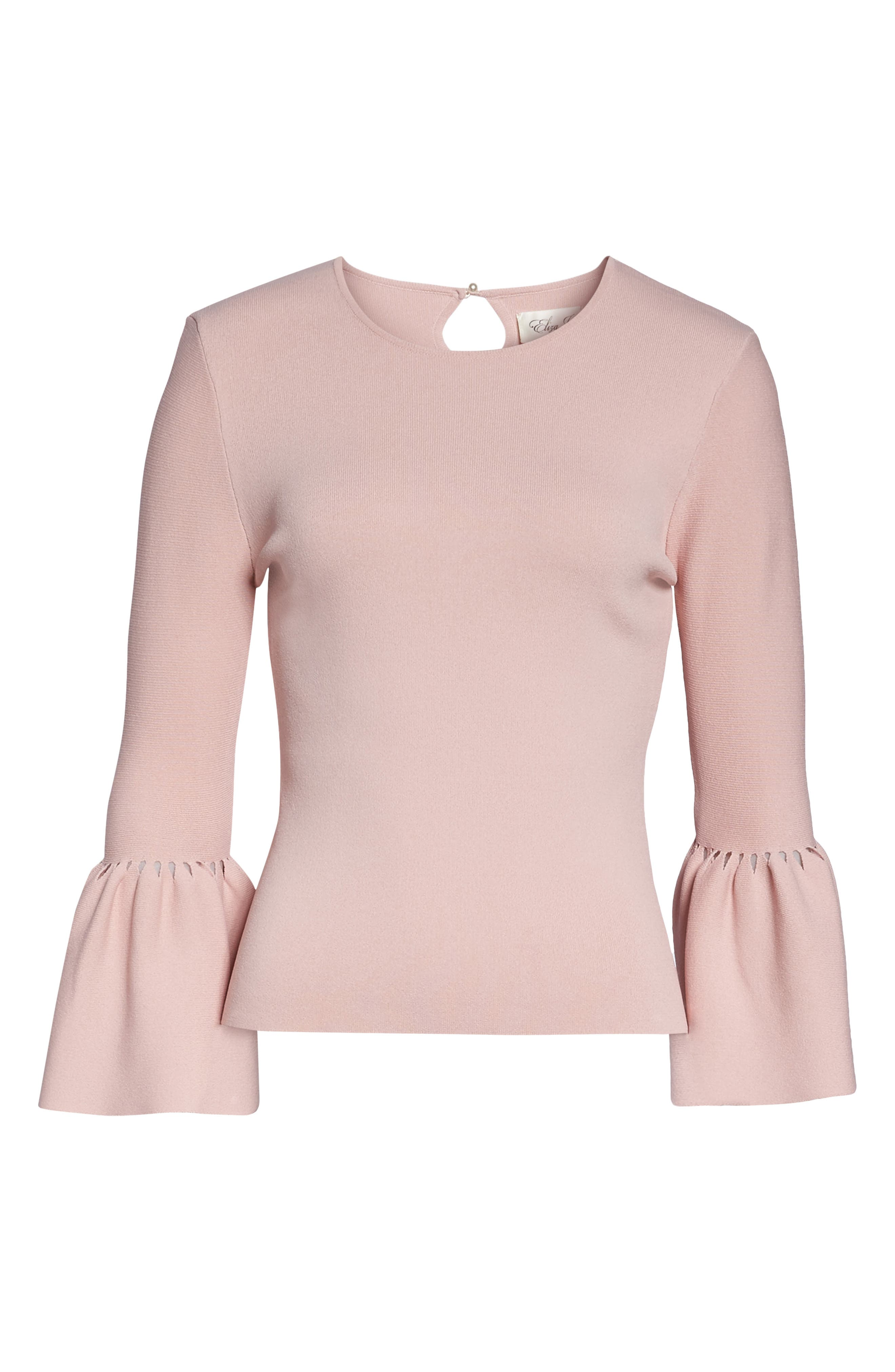 Social Bell Sleeve Top,                             Alternate thumbnail 12, color,