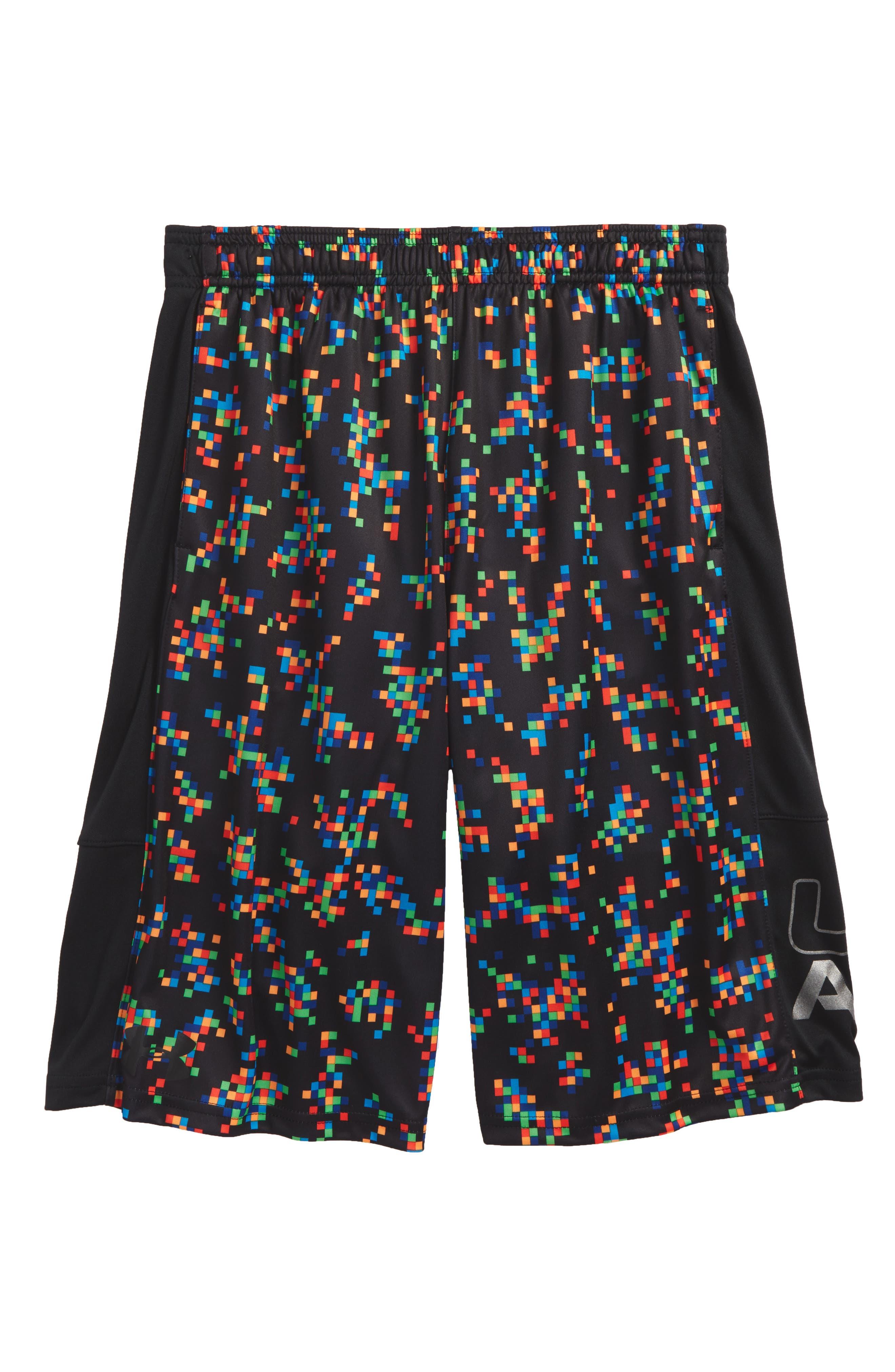 Stunt HeatGear<sup>®</sup> Shorts,                             Main thumbnail 5, color,