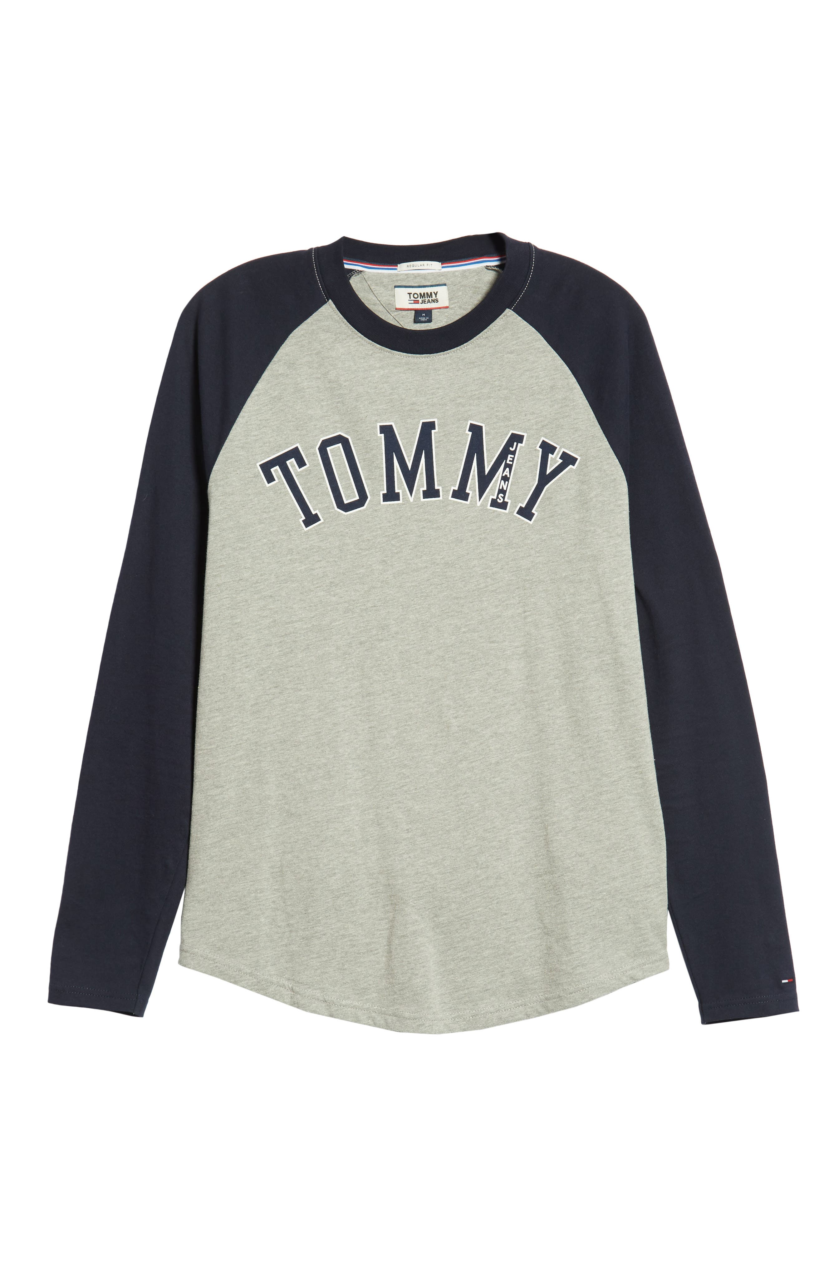 Long Sleeve Raglan T-Shirt,                             Alternate thumbnail 6, color,                             400