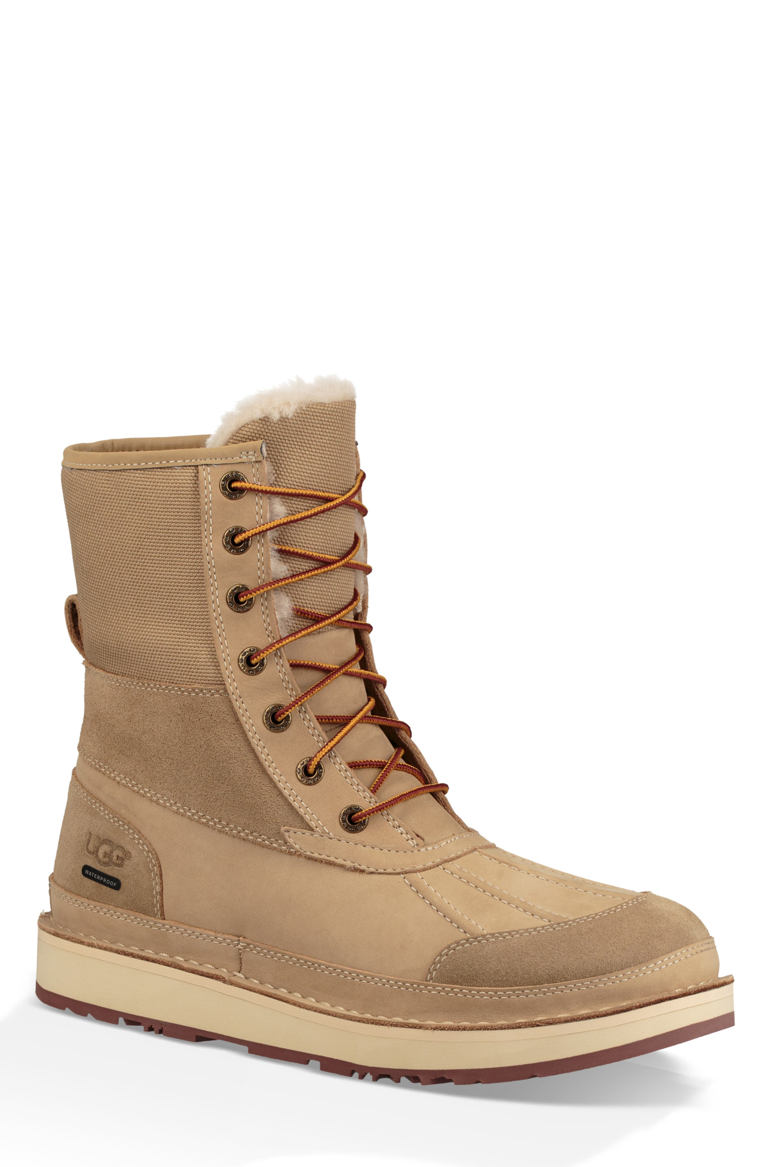 Avalanche Butte Waterproof Boot,                         Main,                         color, DESERT TAN