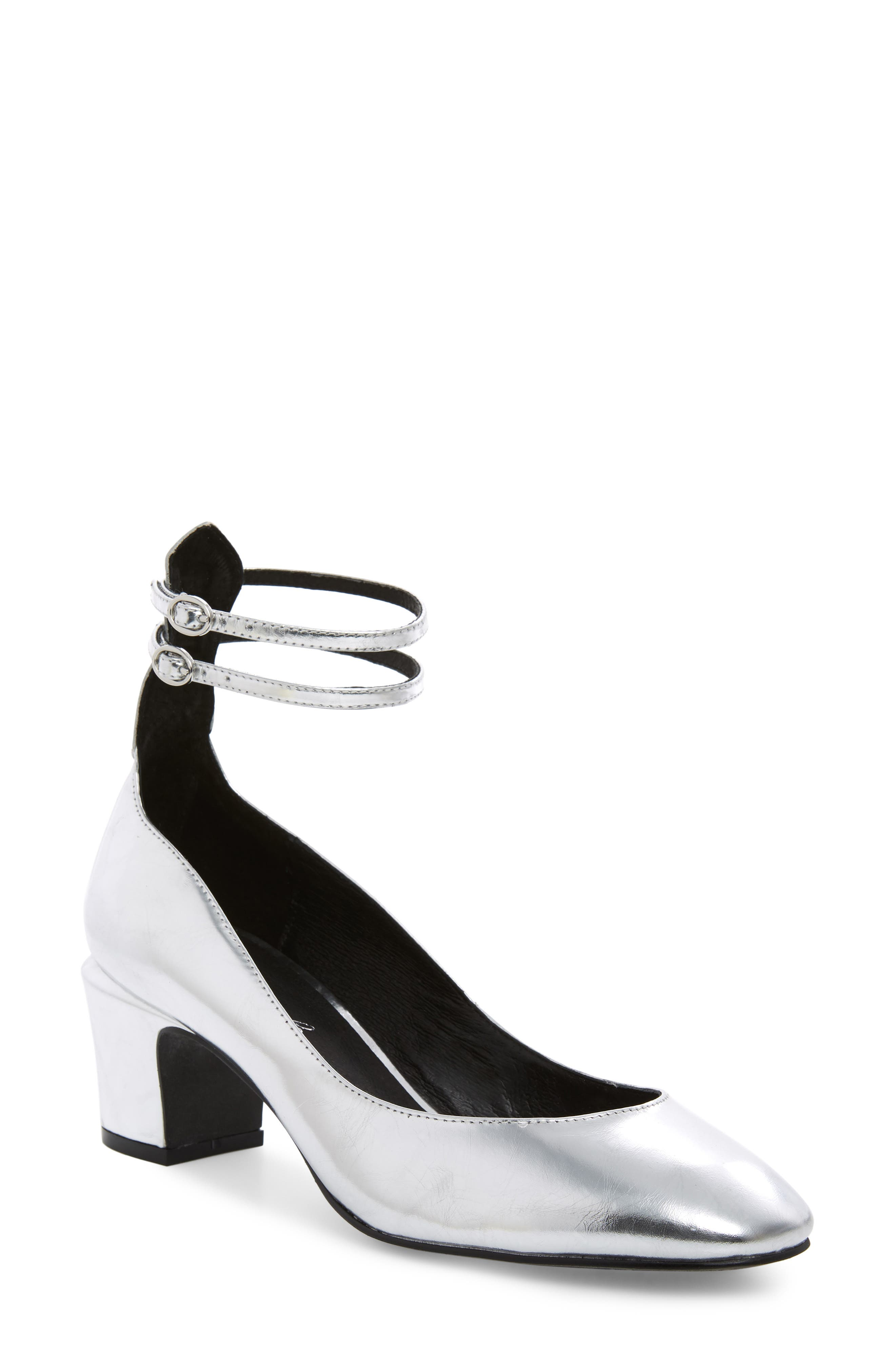 FREE PEOPLE,                             Lana Ankle Strap Pump,                             Main thumbnail 1, color,                             040