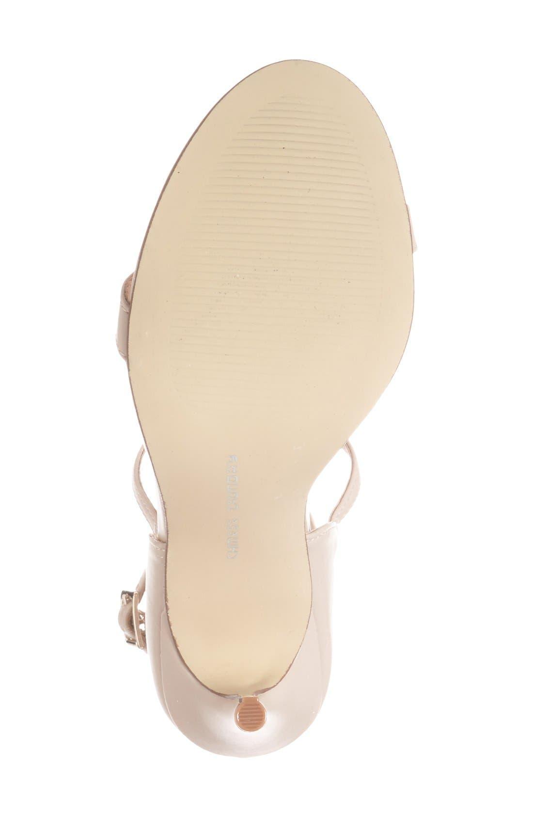 'Lavelle' Ankle Strap Sandal,                             Alternate thumbnail 3, color,                             250