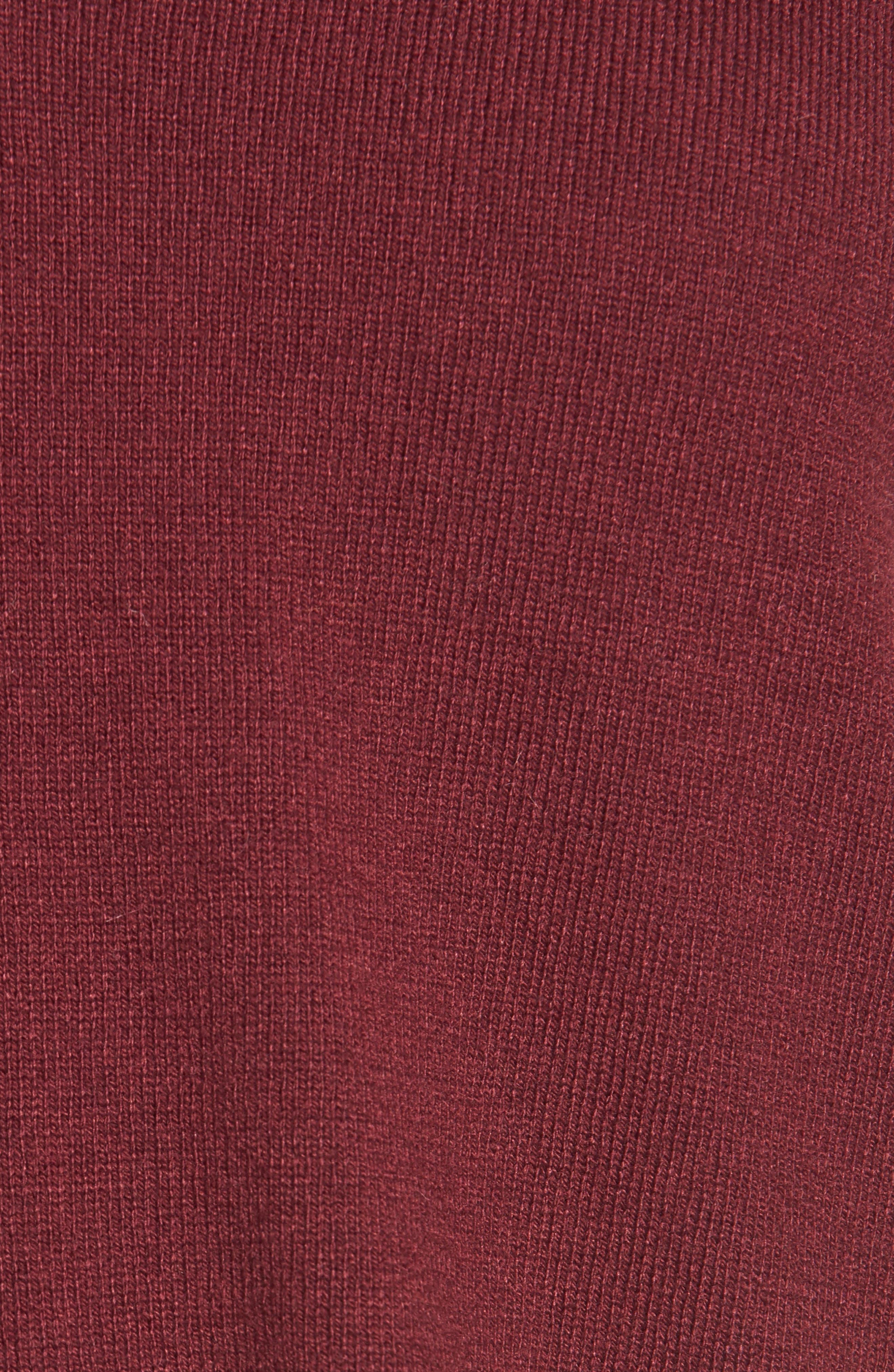 V-Neck Sweater,                             Alternate thumbnail 5, color,                             601