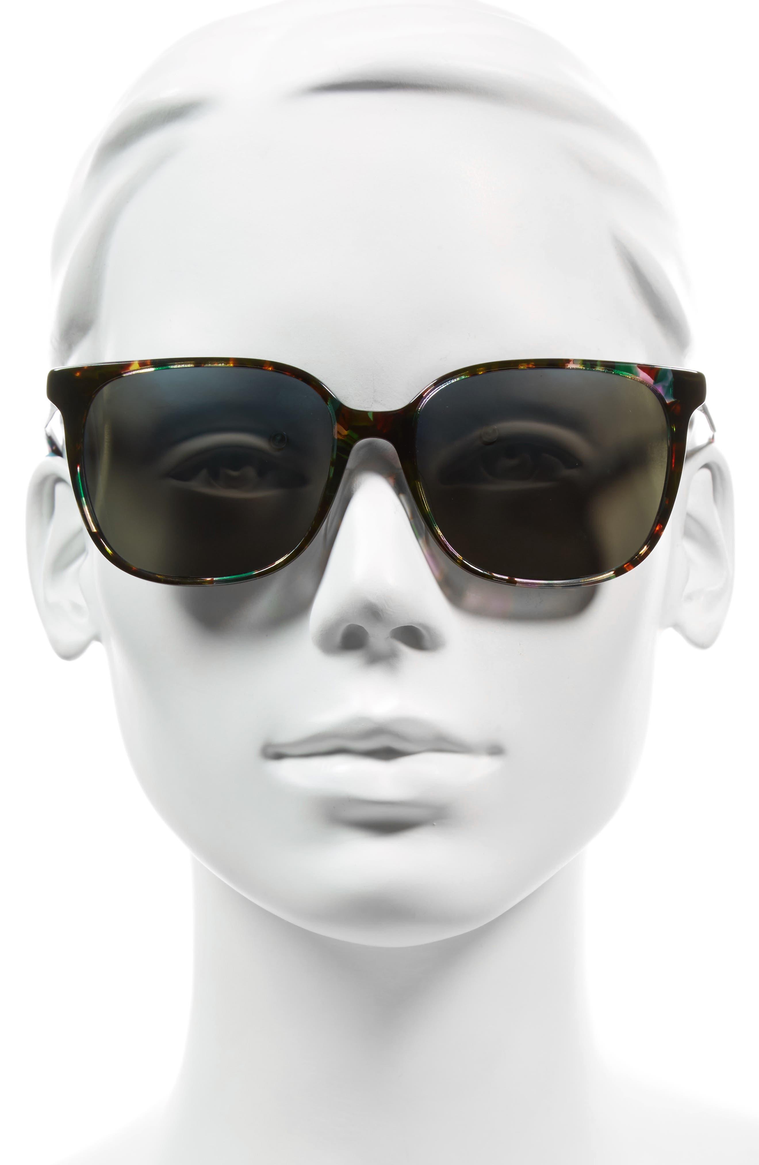 Kintner 55mm Polarized Cat Eye Sunglasses,                             Alternate thumbnail 5, color,