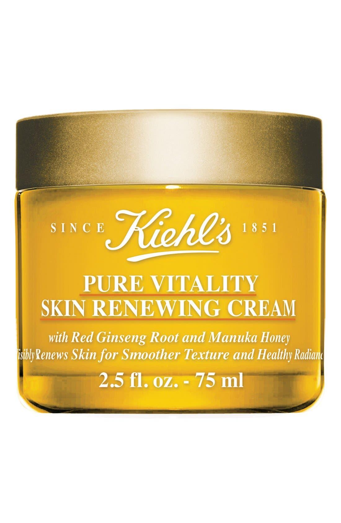 Pure Vitality Skin Renewing Cream,                             Main thumbnail 1, color,                             000