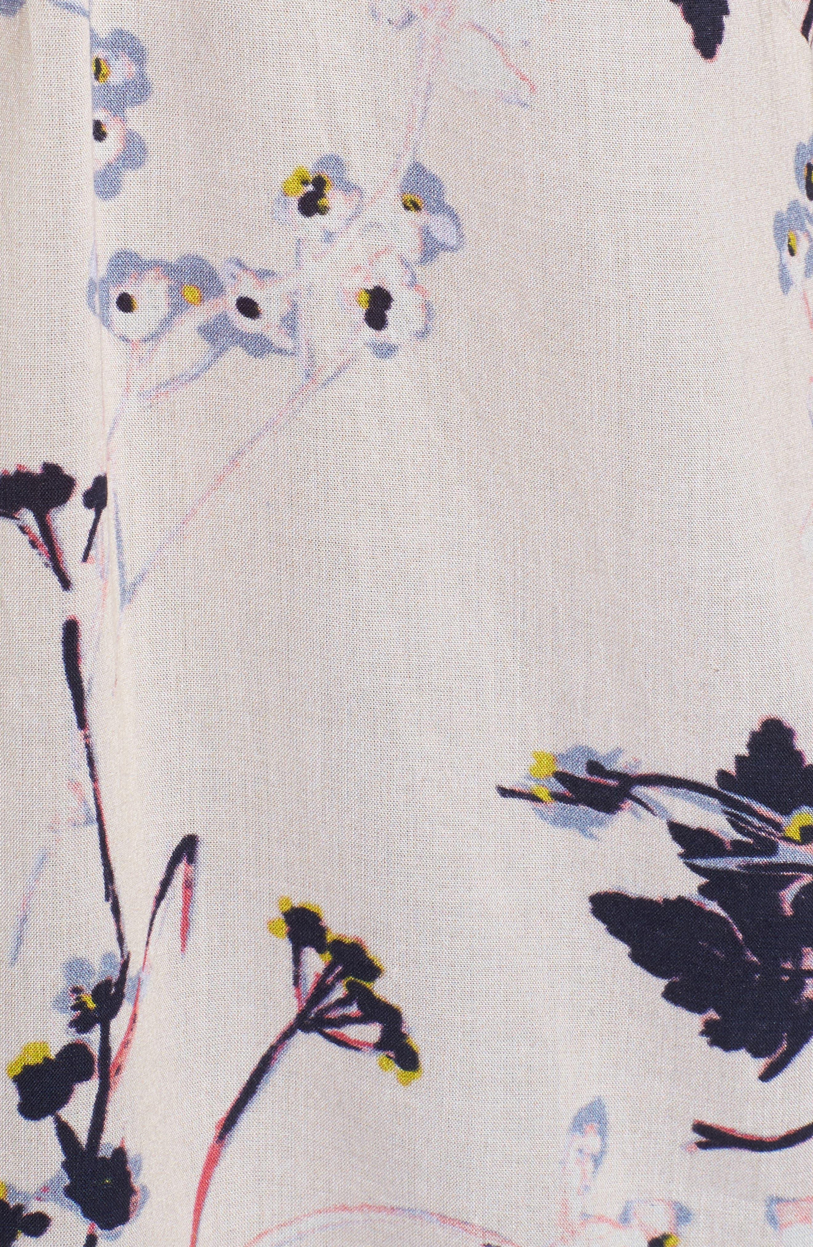 Print Split Neck Boho Top,                             Alternate thumbnail 38, color,