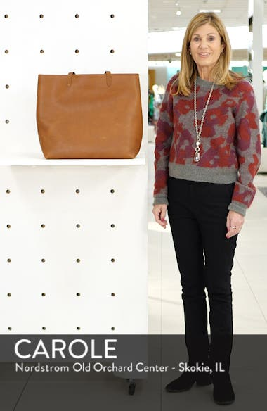 'The Transport' Leather Tote, sales video thumbnail
