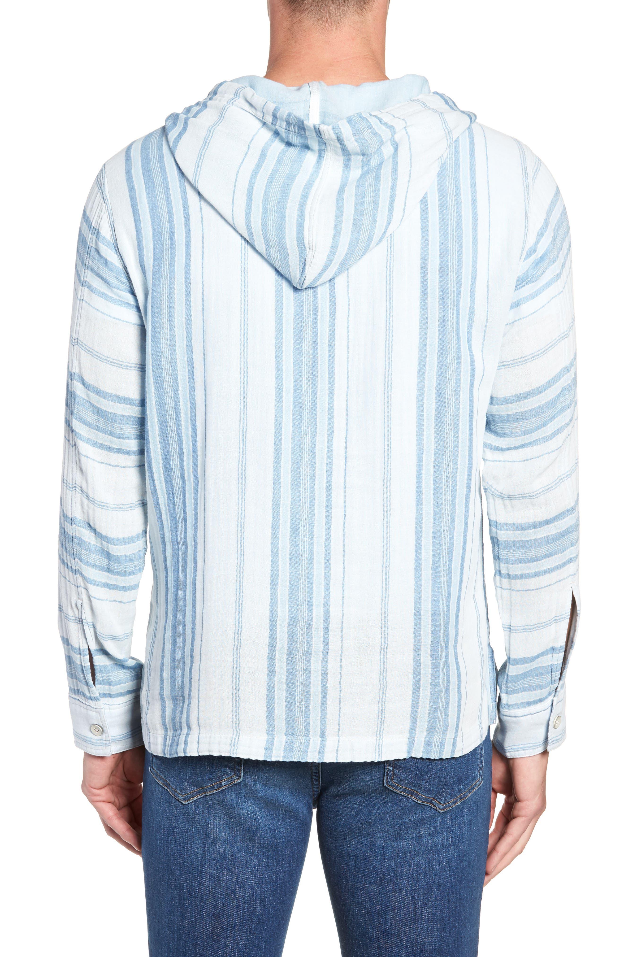 Baja Double Cloth Poncho,                             Alternate thumbnail 2, color,                             405