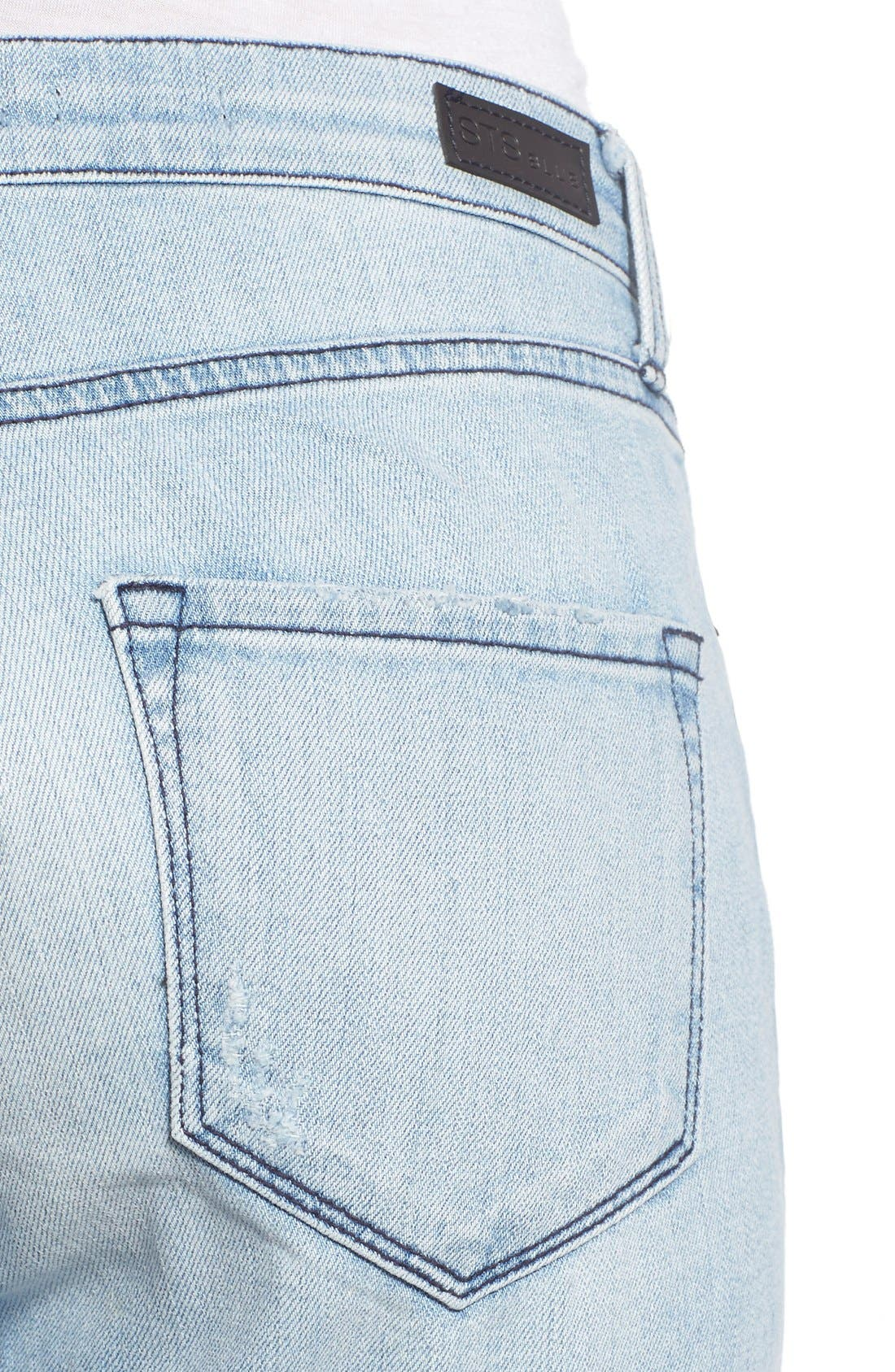 'Taylor' Distressed Jeans,                             Alternate thumbnail 2, color,                             404