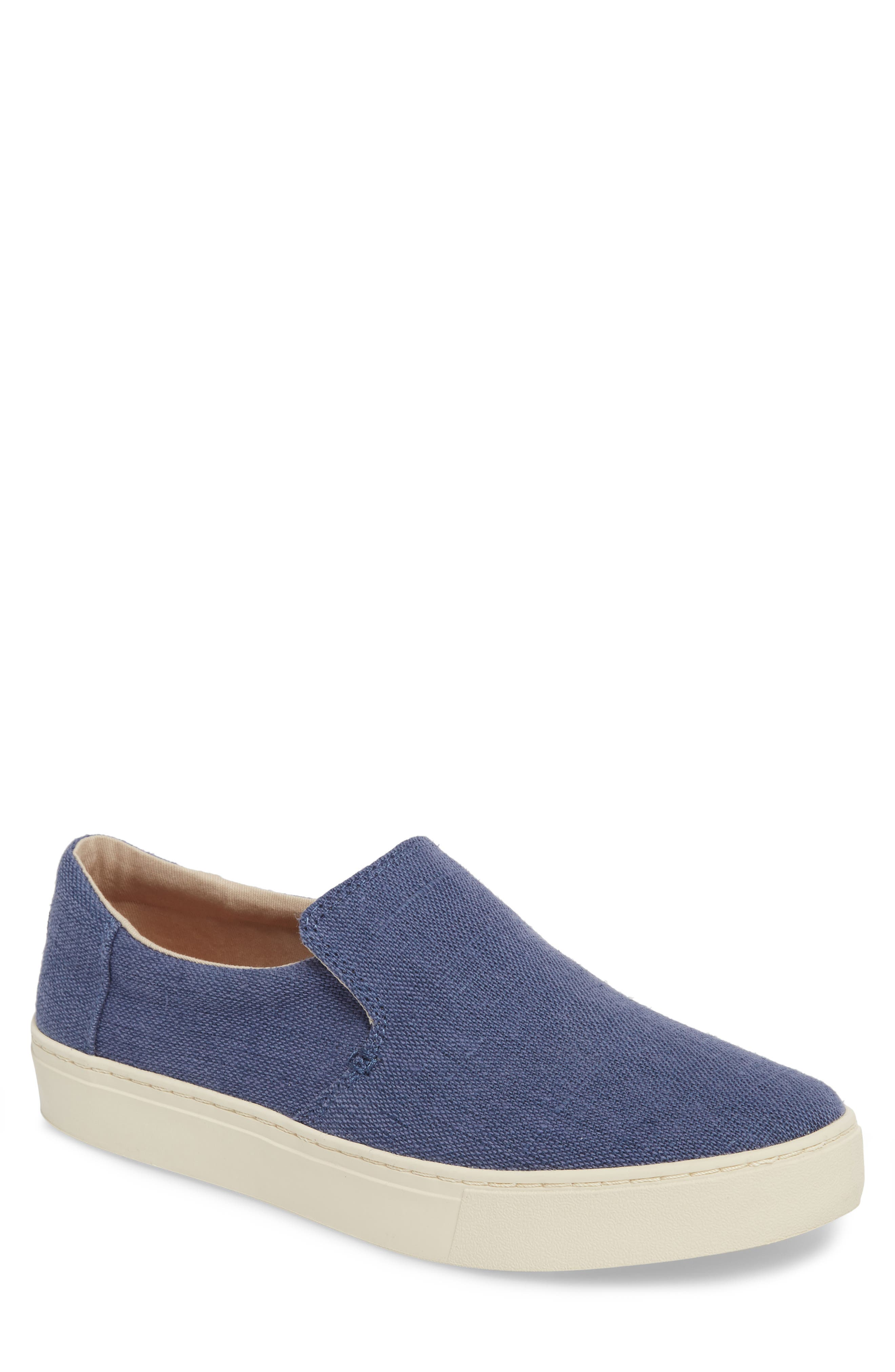 TOMS Loma Slip-On Sneaker, Main, color, CADET BLUE HERITAGE CANVAS