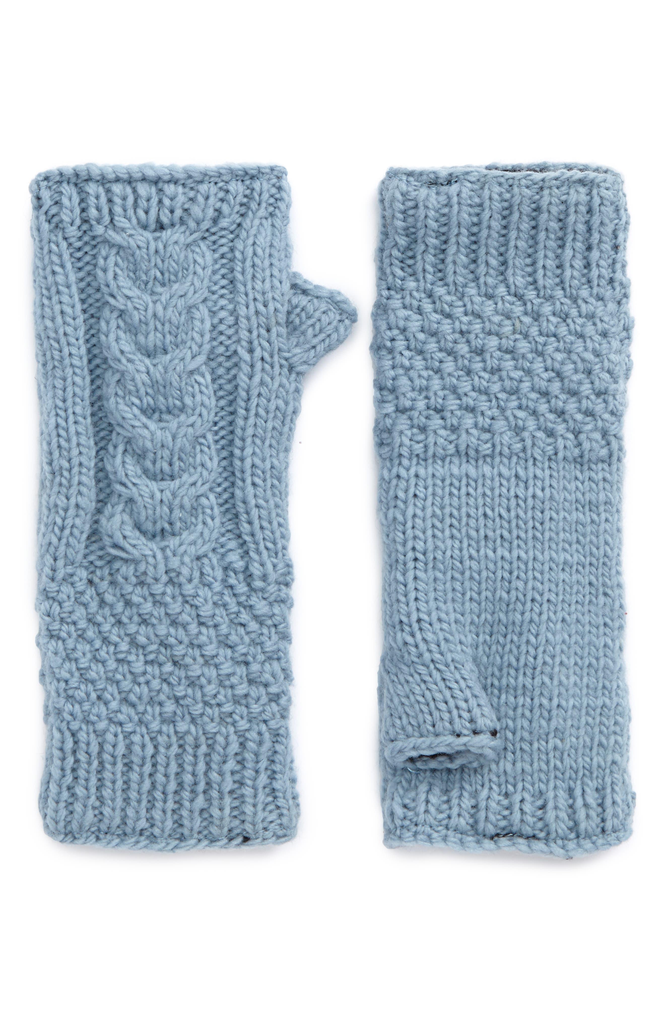 NirvannaDesigns Cable Knit Hand Warmers,                             Main thumbnail 2, color,