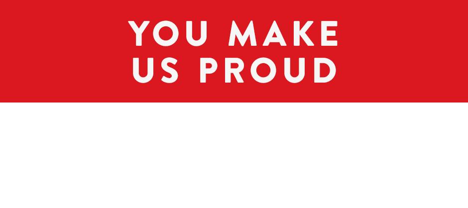 Veterans, you make us proud.