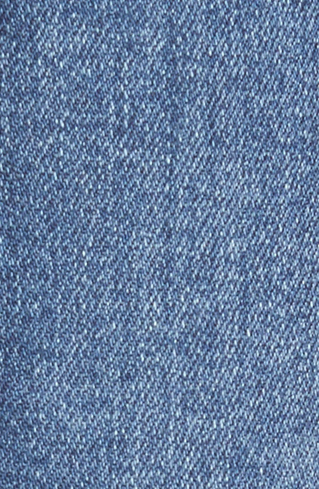 Sculpt - Rocket High Waist Skinny Jeans,                             Alternate thumbnail 7, color,                             WAVERLY