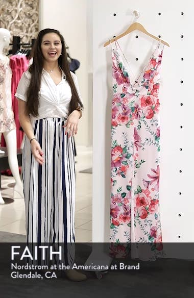 The Rylee Floral Strappy Gown, sales video thumbnail