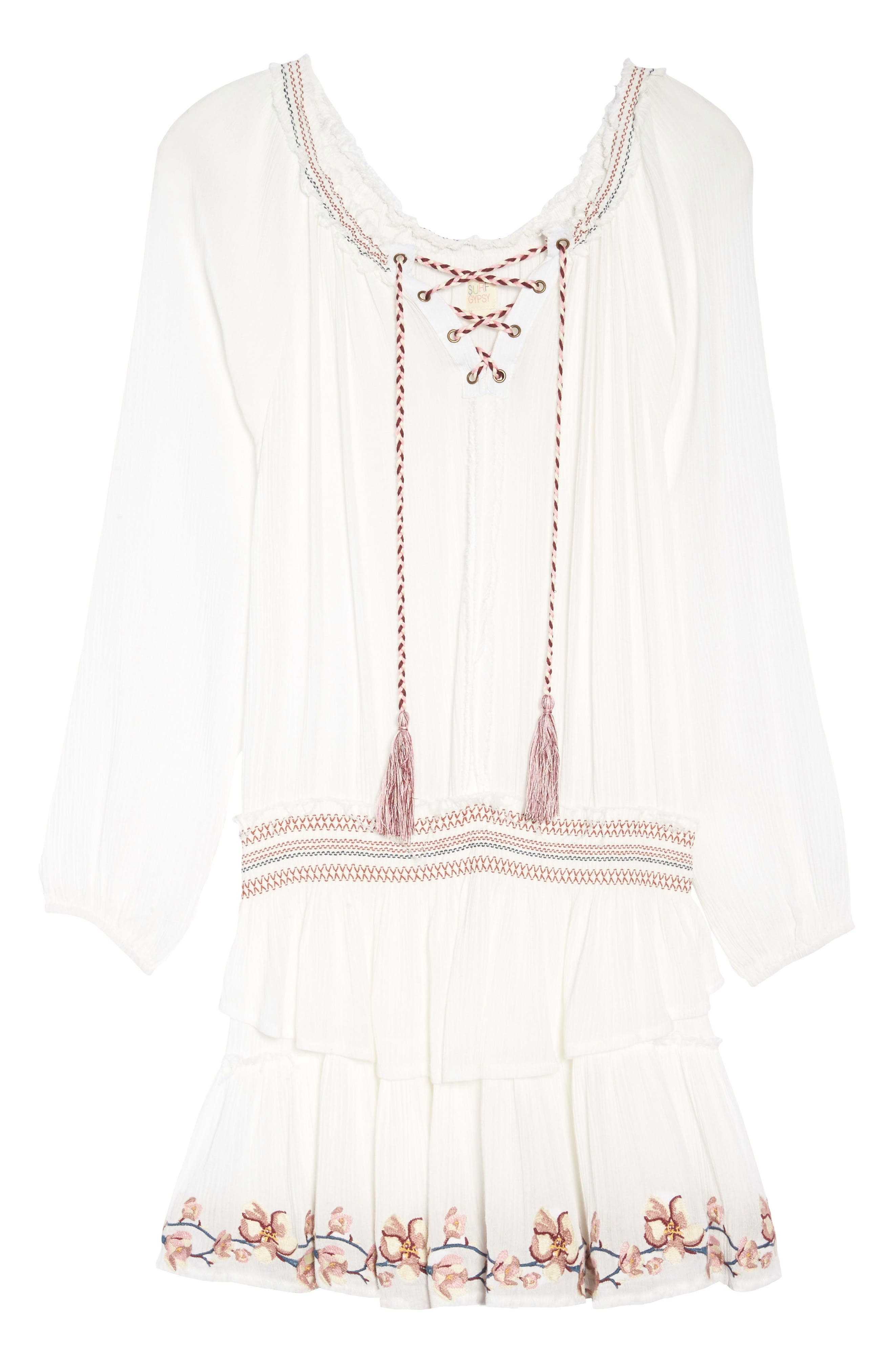 Cover-Up Dress,                             Alternate thumbnail 12, color,